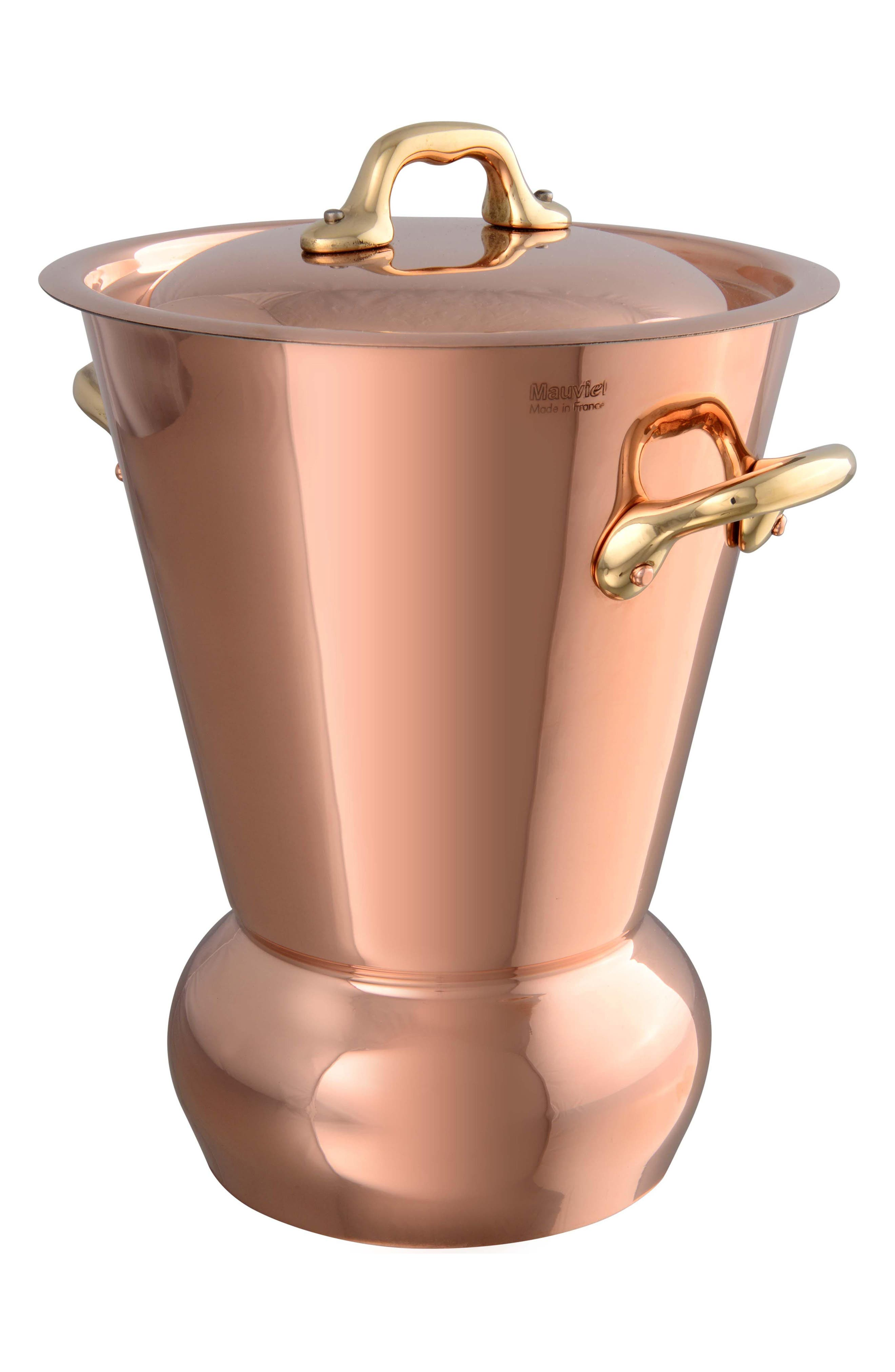 Alternate Image 1 Selected - Mauviel M'tradition Copper Potato Steamer