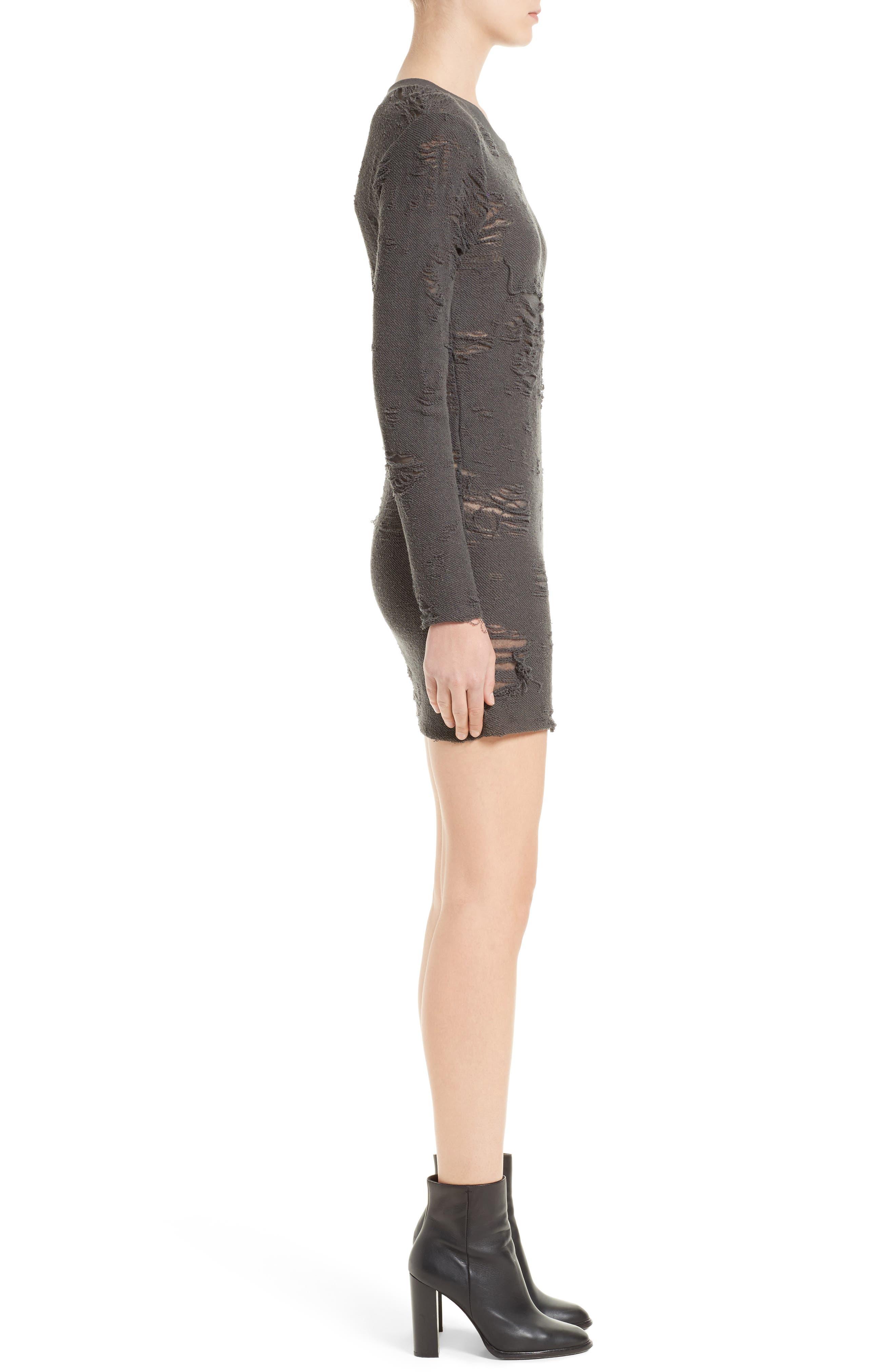 Alternate Image 3  - IRO Cevoc Distressed Dress