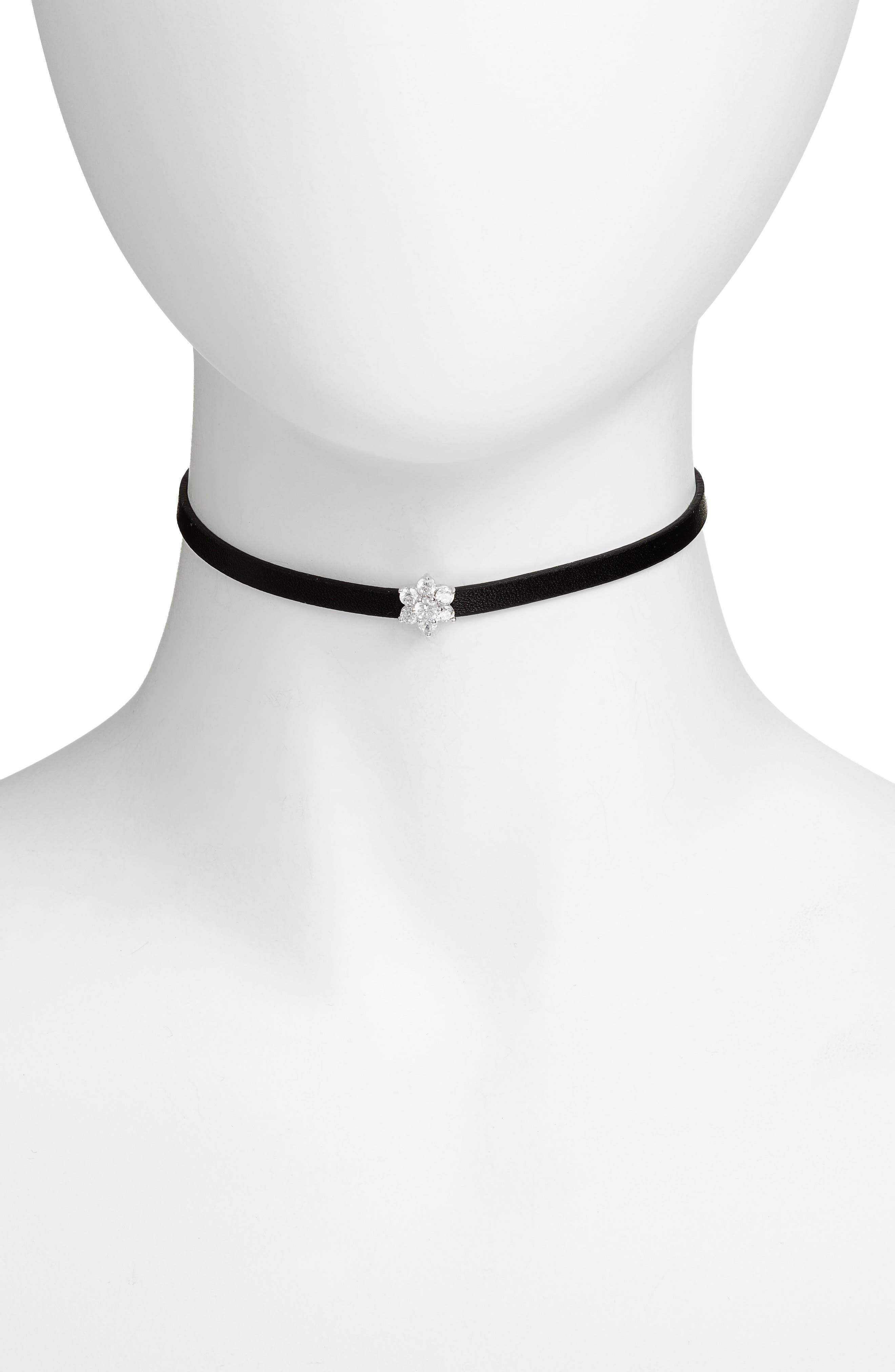 CZ BY KENNETH JAY LANE Crystal Choker