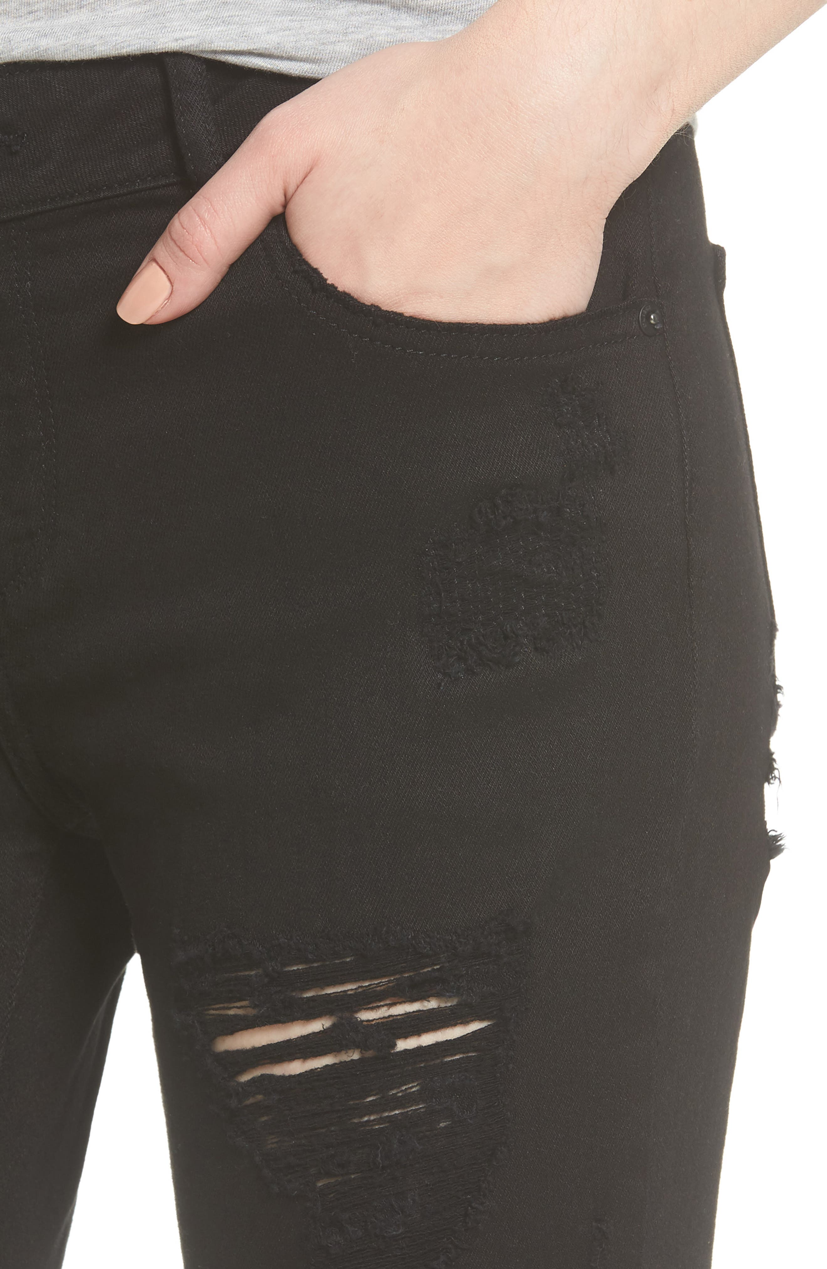 Alternate Image 4  - DL1961 Davis Ankle Girlfriend Jeans (Brooks)