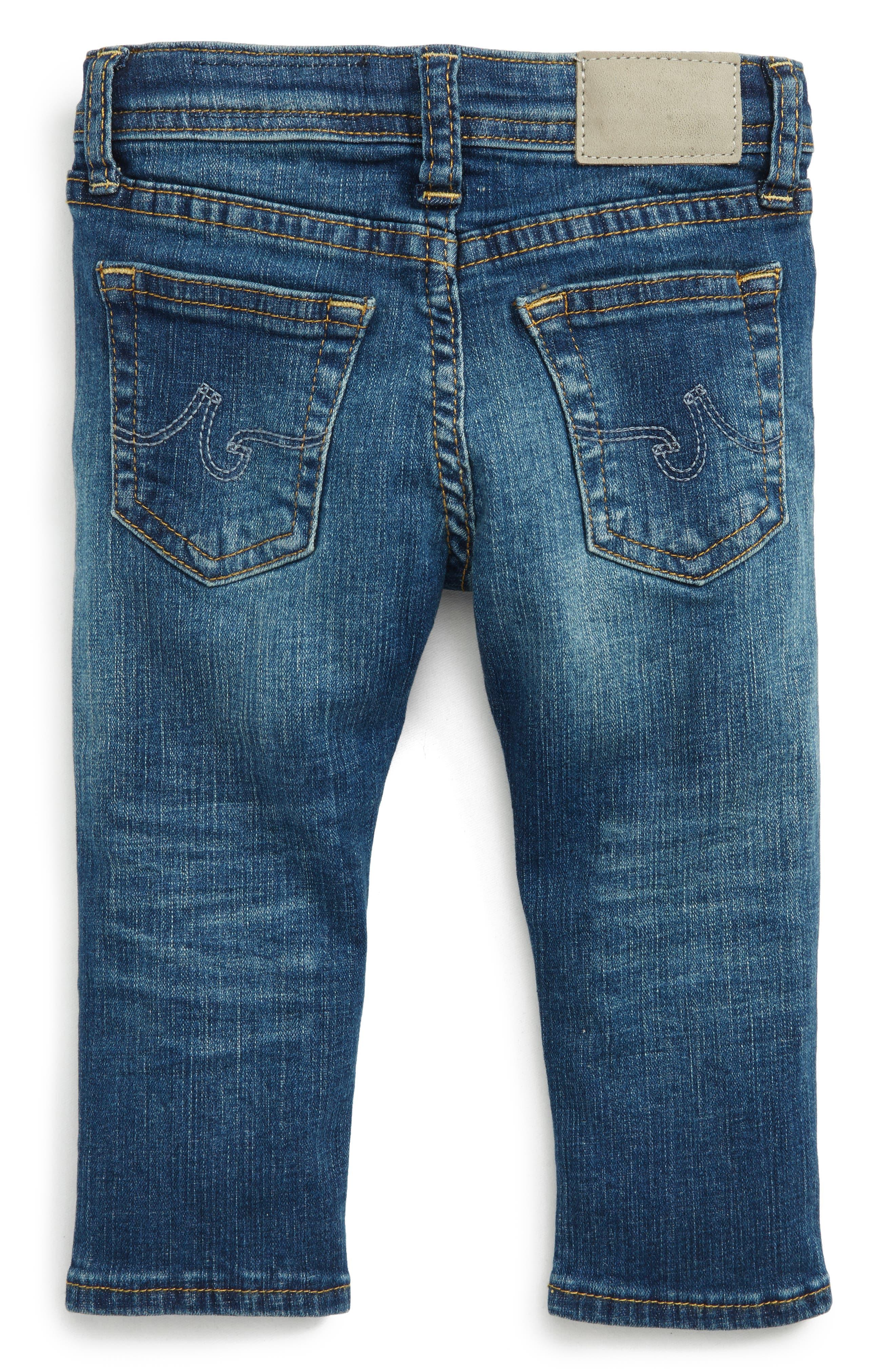 Alternate Image 2  - ag adriano goldschmied kids The Stryker Slim Straight Leg Jeans (Baby Boys)