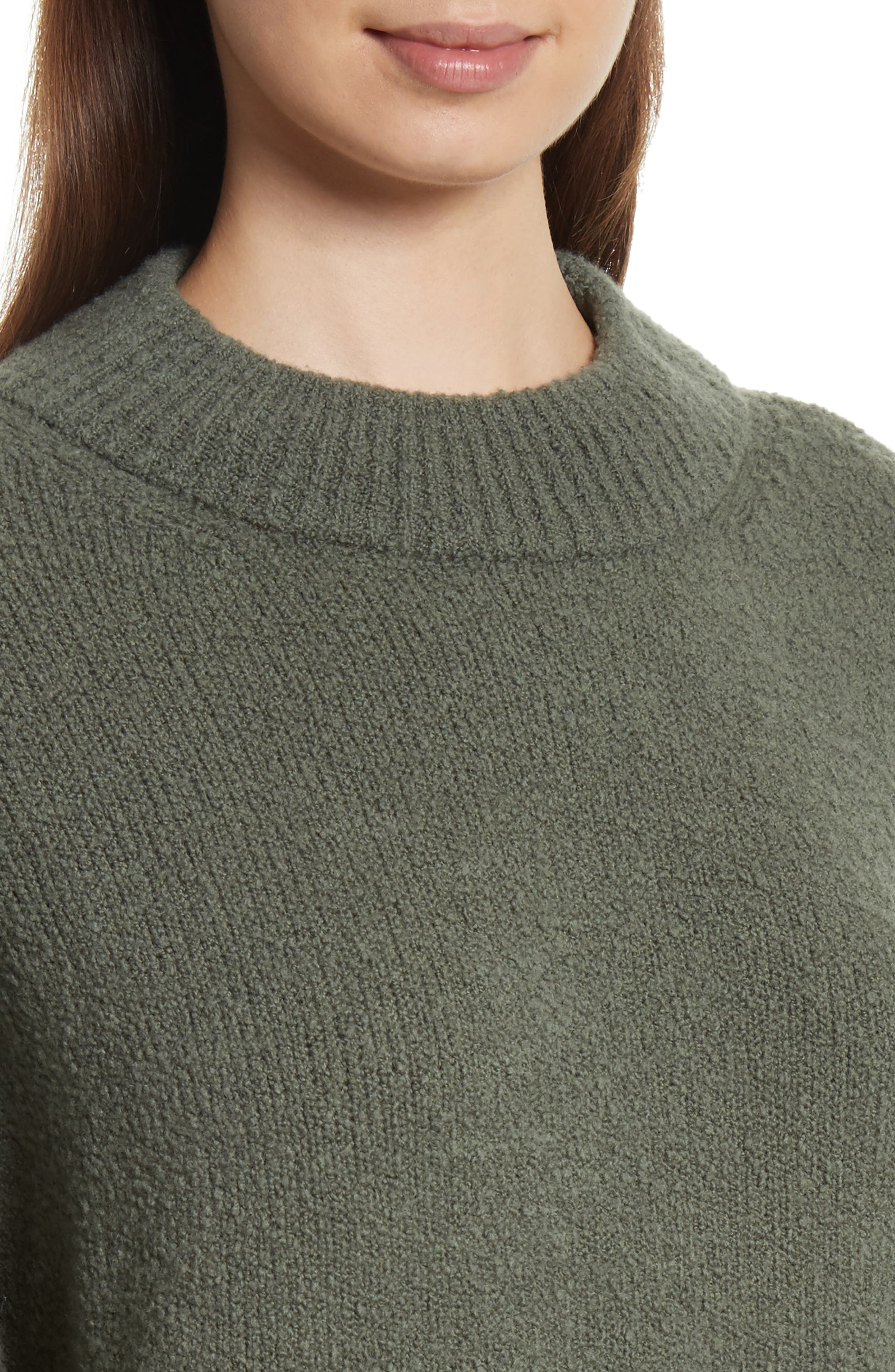 Boxy Knit Pullover,                             Alternate thumbnail 4, color,                             Frog