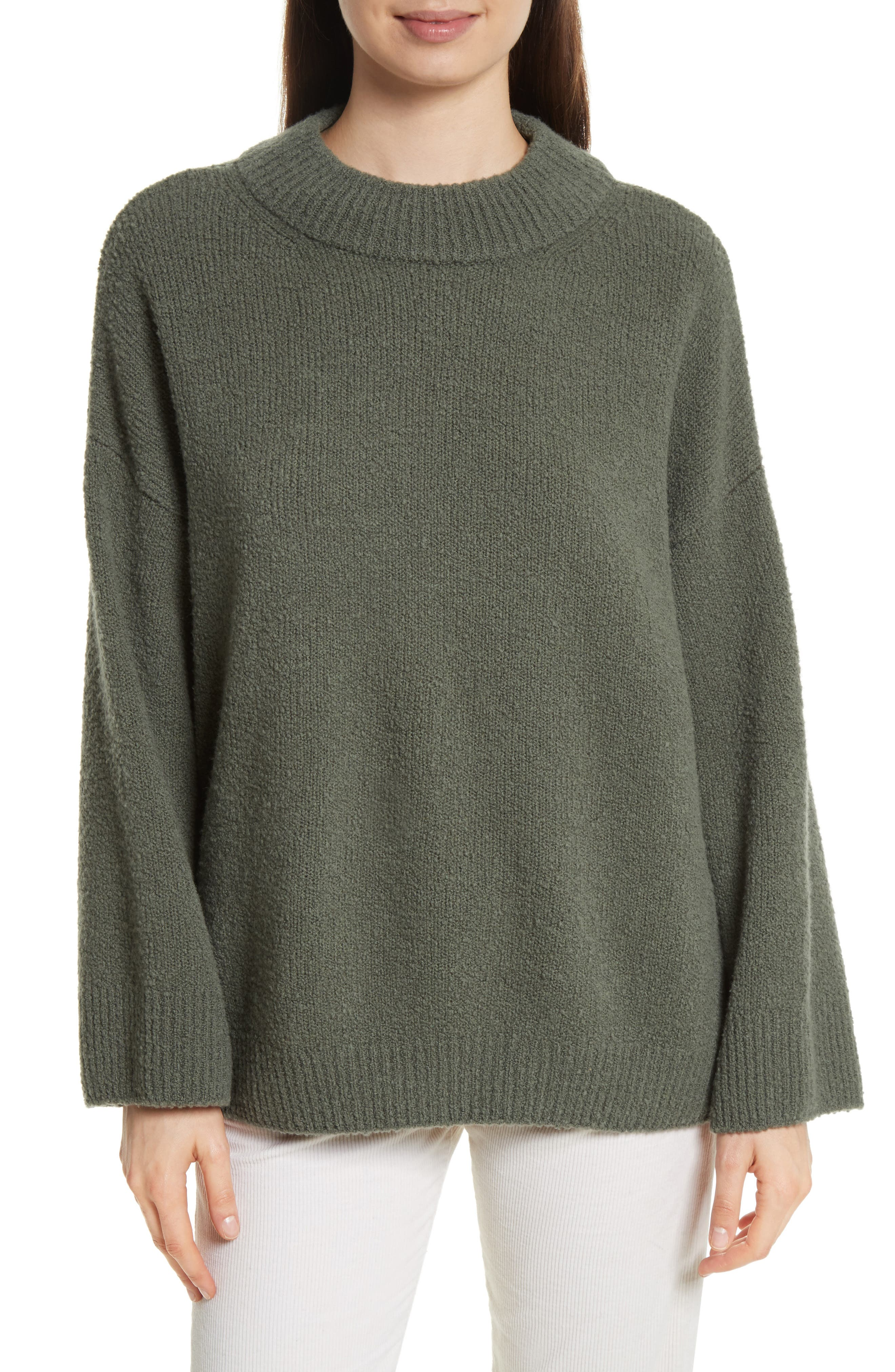 Boxy Knit Pullover,                         Main,                         color, Frog