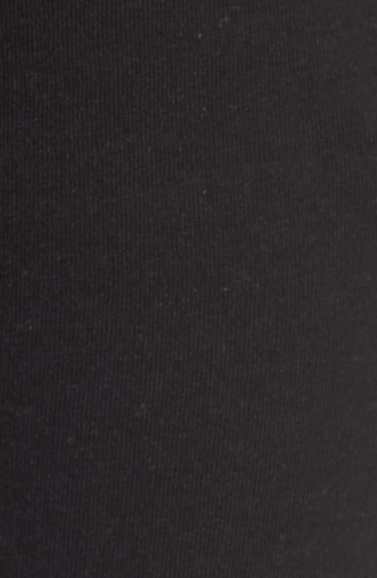 Clementine Cotton & Silk Pajama Pants,                             Alternate thumbnail 7, color,                             Black
