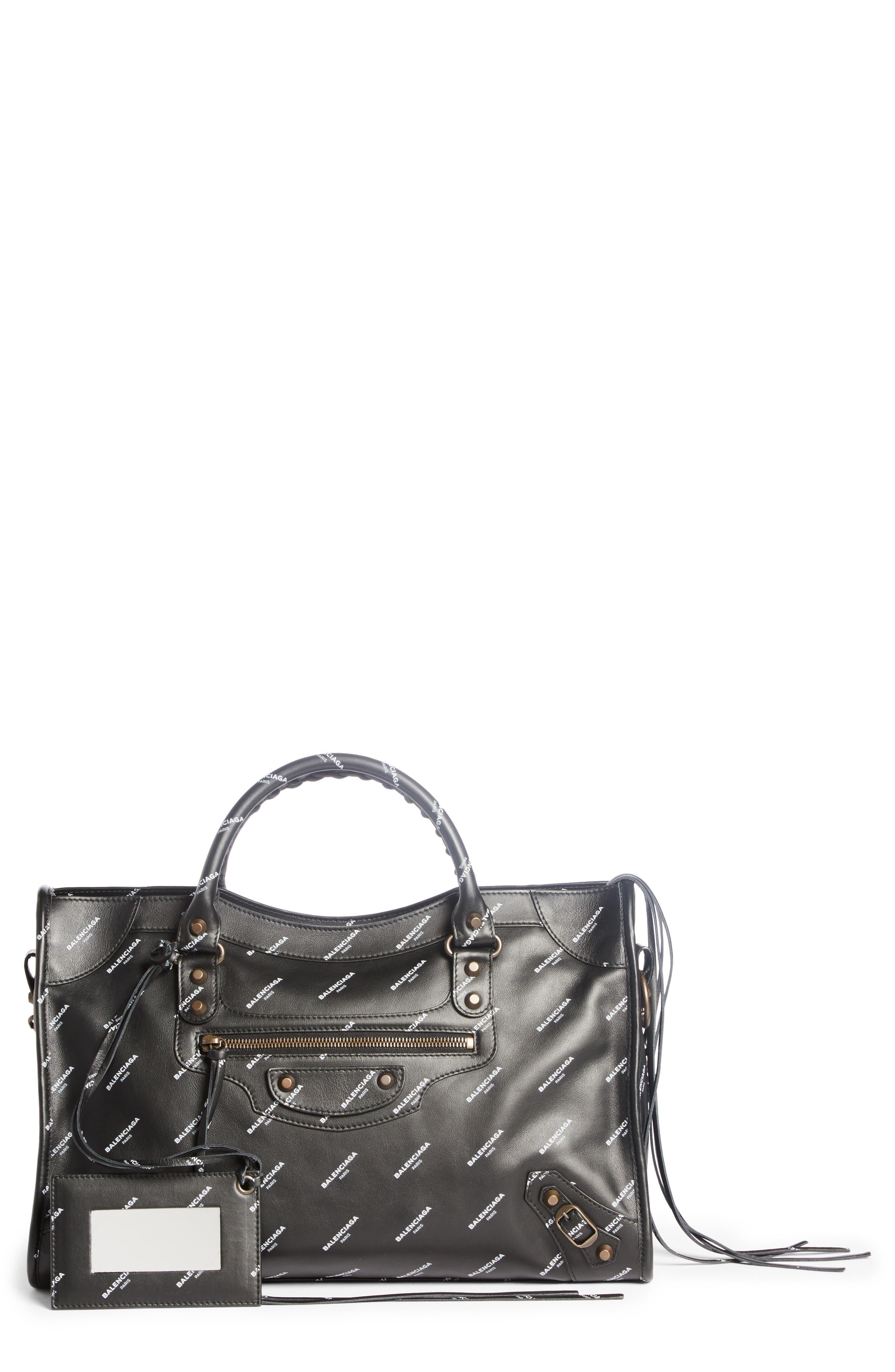 Main Image - Balenciaga Classic City Logo Leather Tote