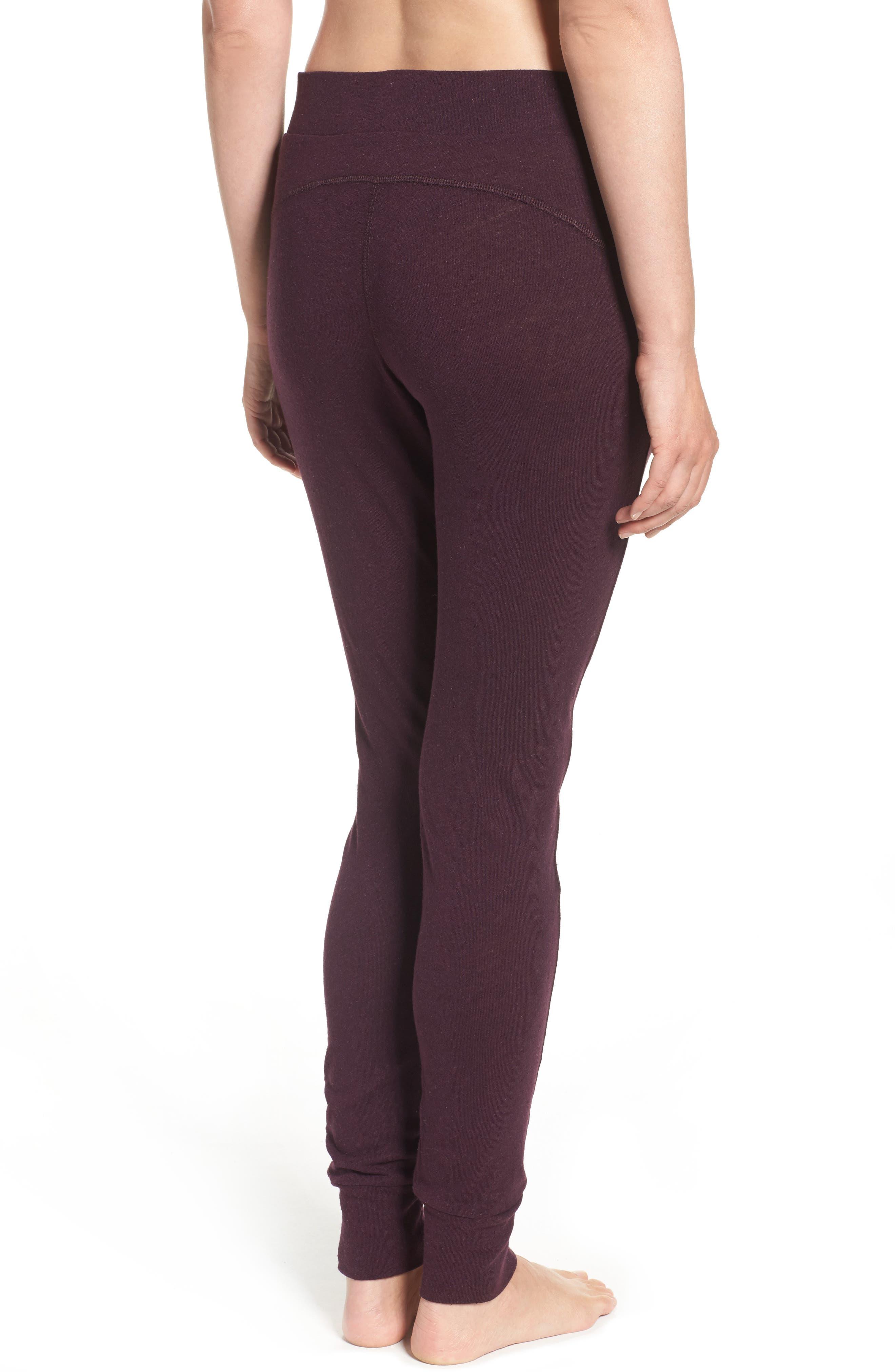 Alternate Image 2  - UGG® Clementine Cotton & Silk Pajama Pants