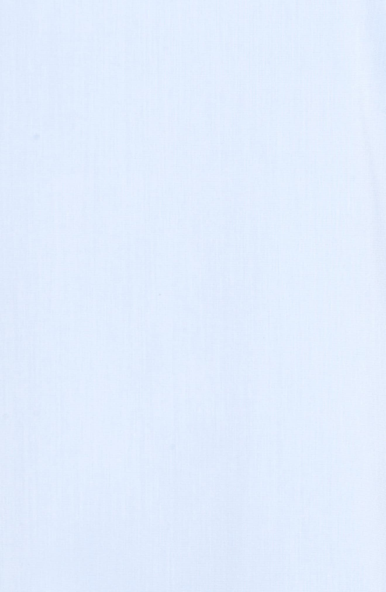 Alternate Image 5  - Halogen® Tie Back Ruffle Sleeve Dress (Regular & Petite)