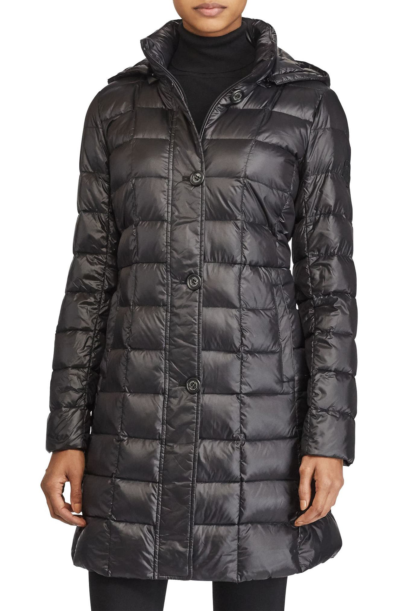 Lauren Ralph Lauren Packable Down Coat