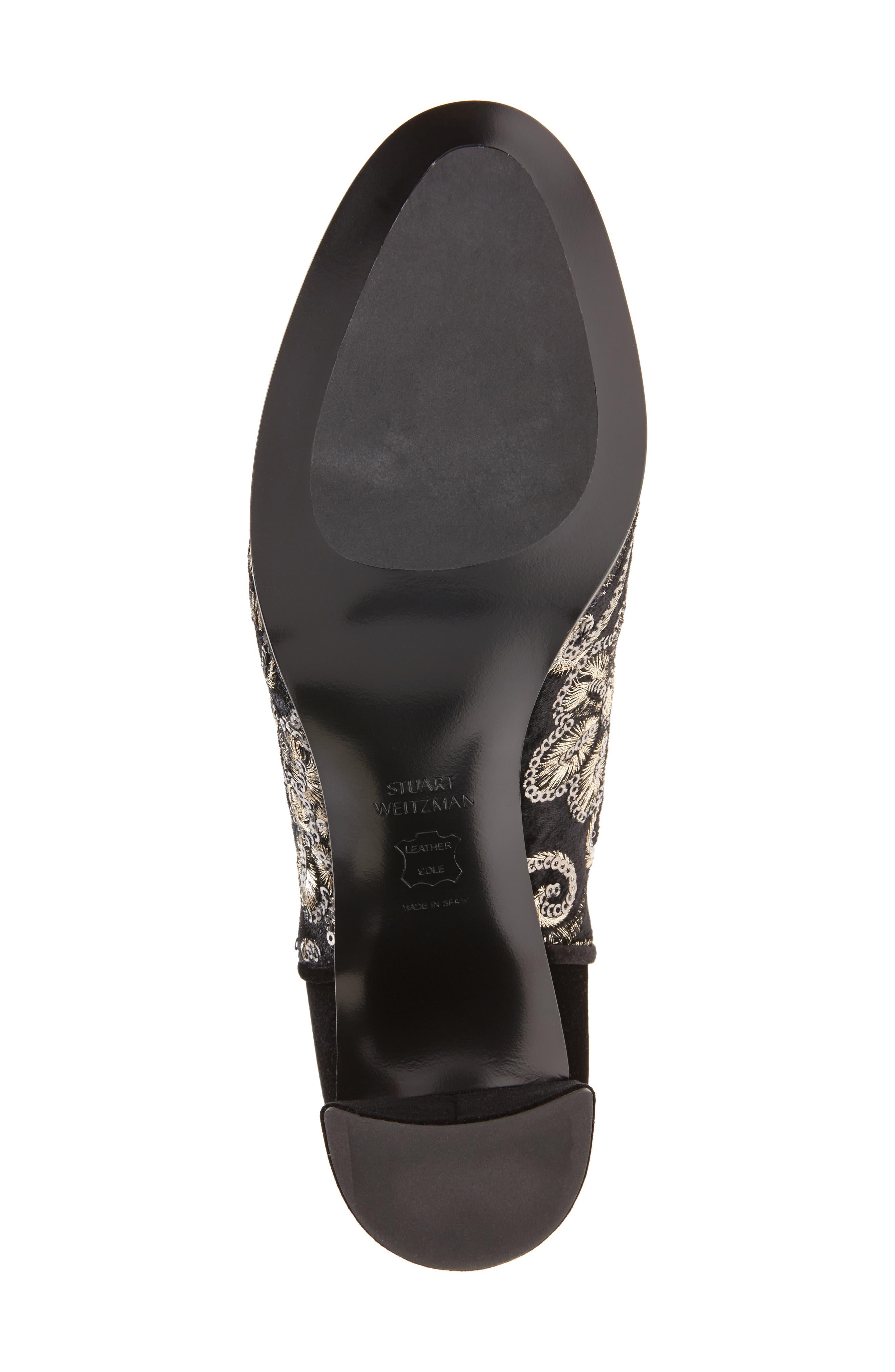 Alternate Image 6  - Stuart Weitzman Lowjack Over the Knee Stretch Velvet Boot (Women)