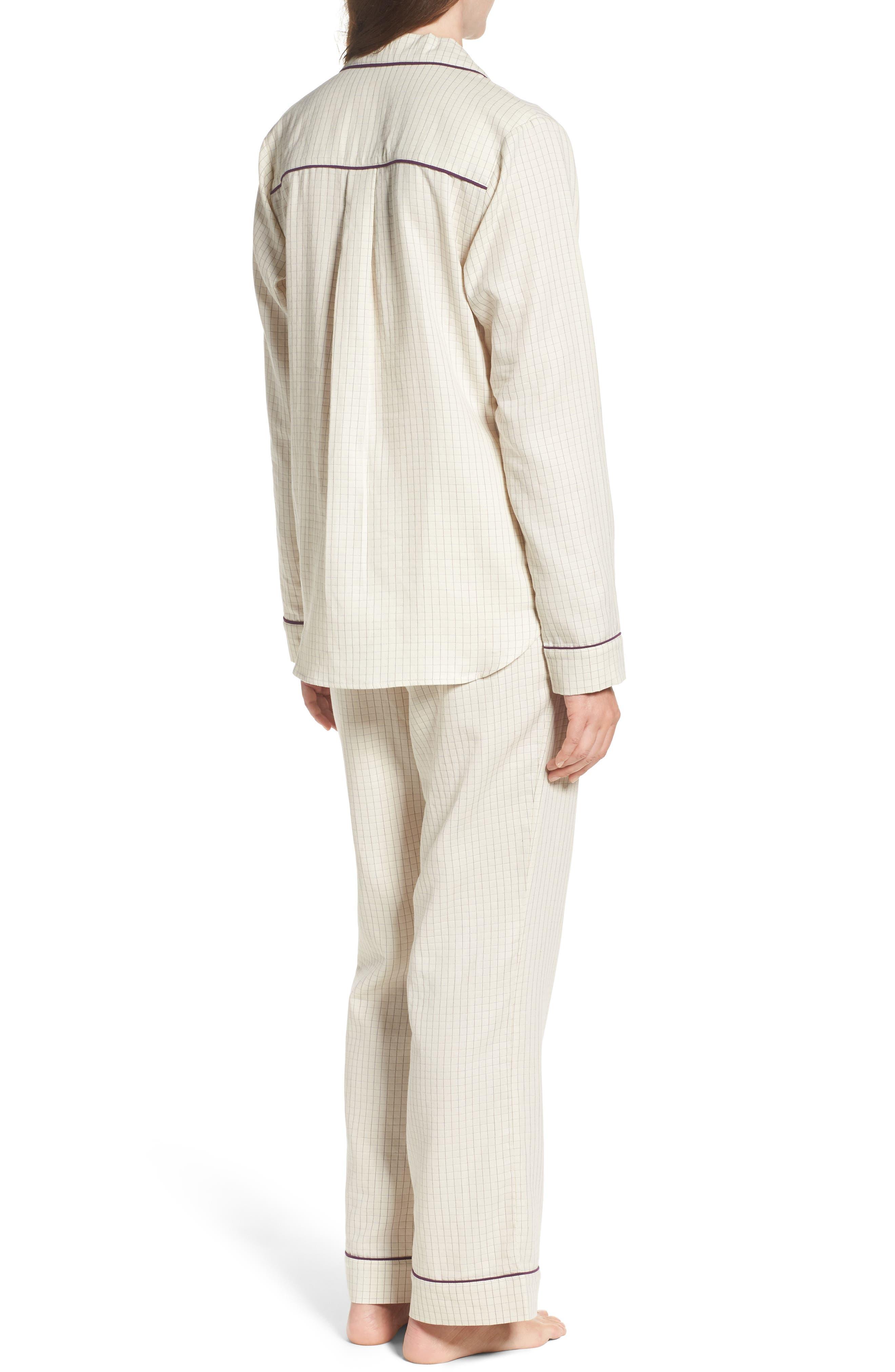 Alternate Image 2  - UGG® Raven Check Pajamas