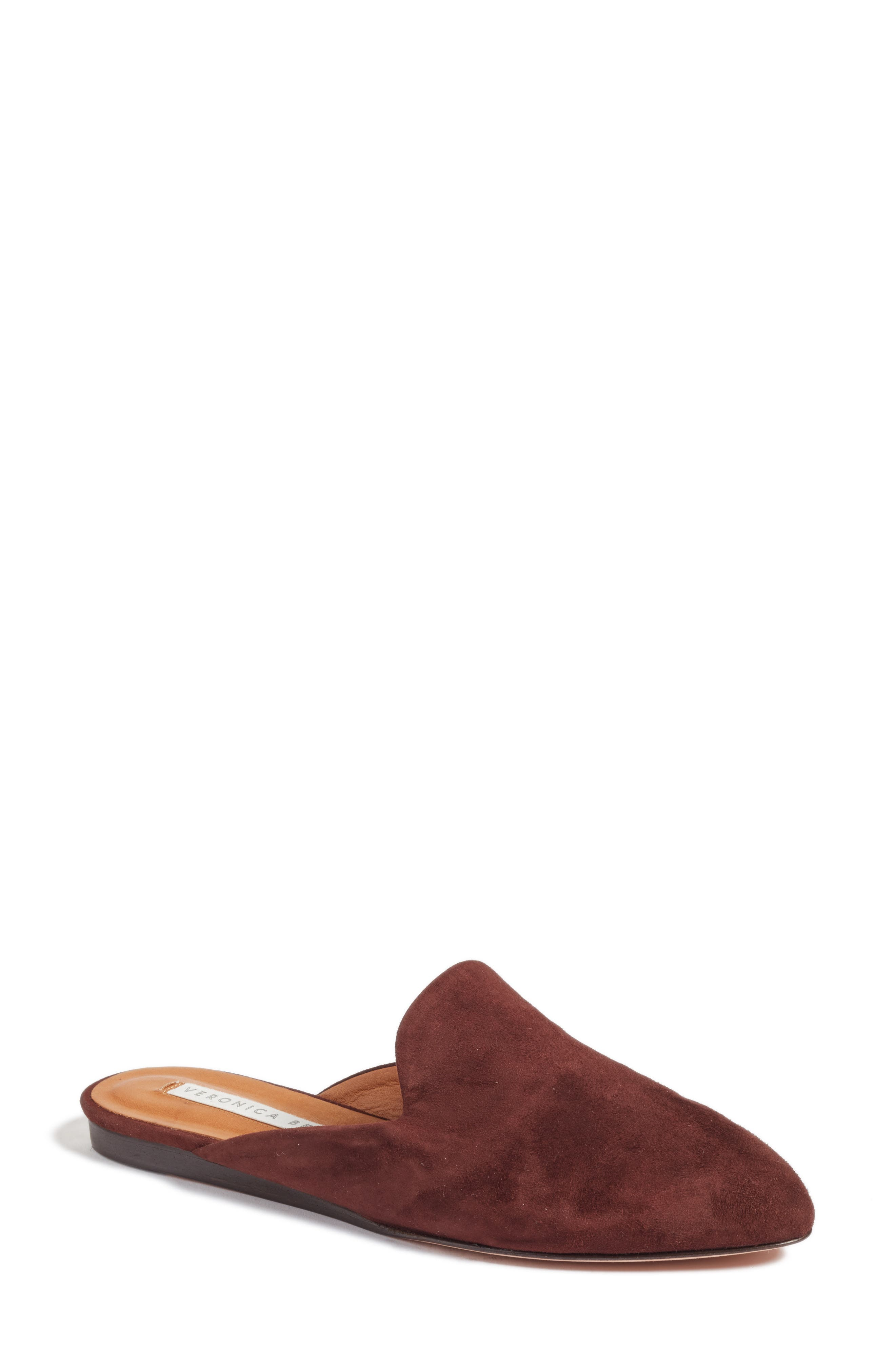 Veronica Beard Grey Backless Loafer (Women)