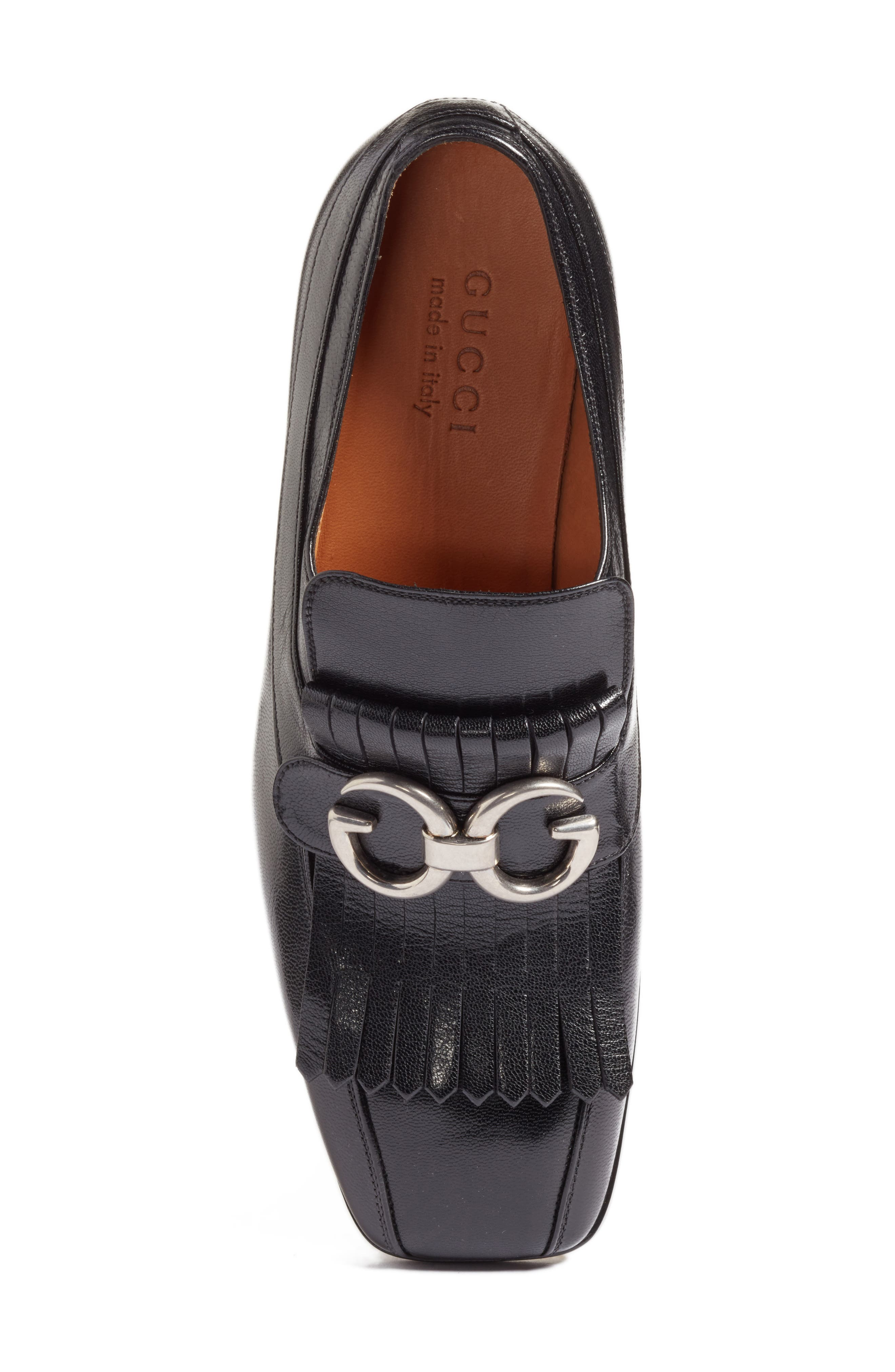Alternate Image 5  - Gucci Novel Marmont Kiltie Loafer (Men)