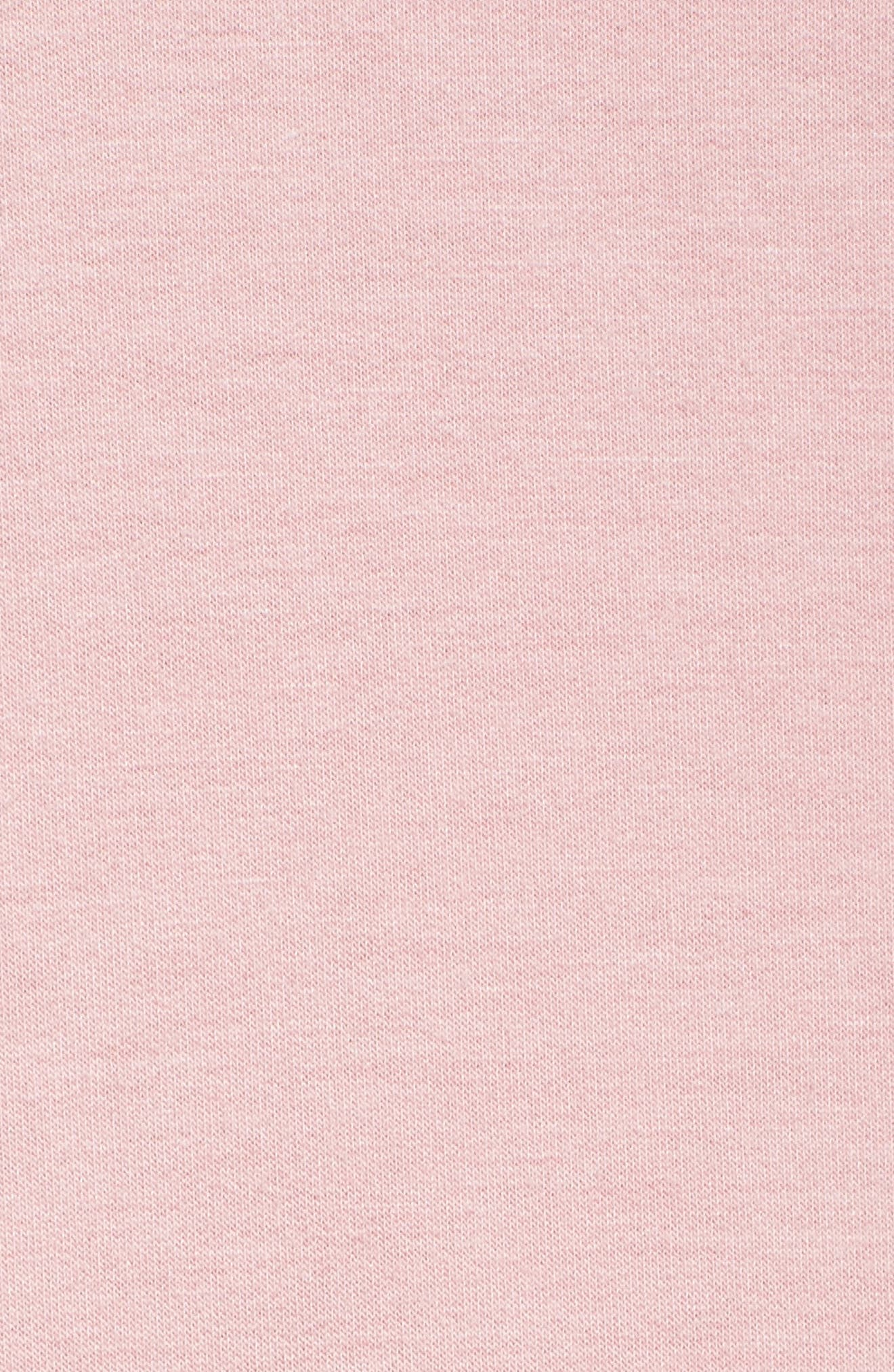 Jersey Pullover,                             Alternate thumbnail 6, color,                             Blush