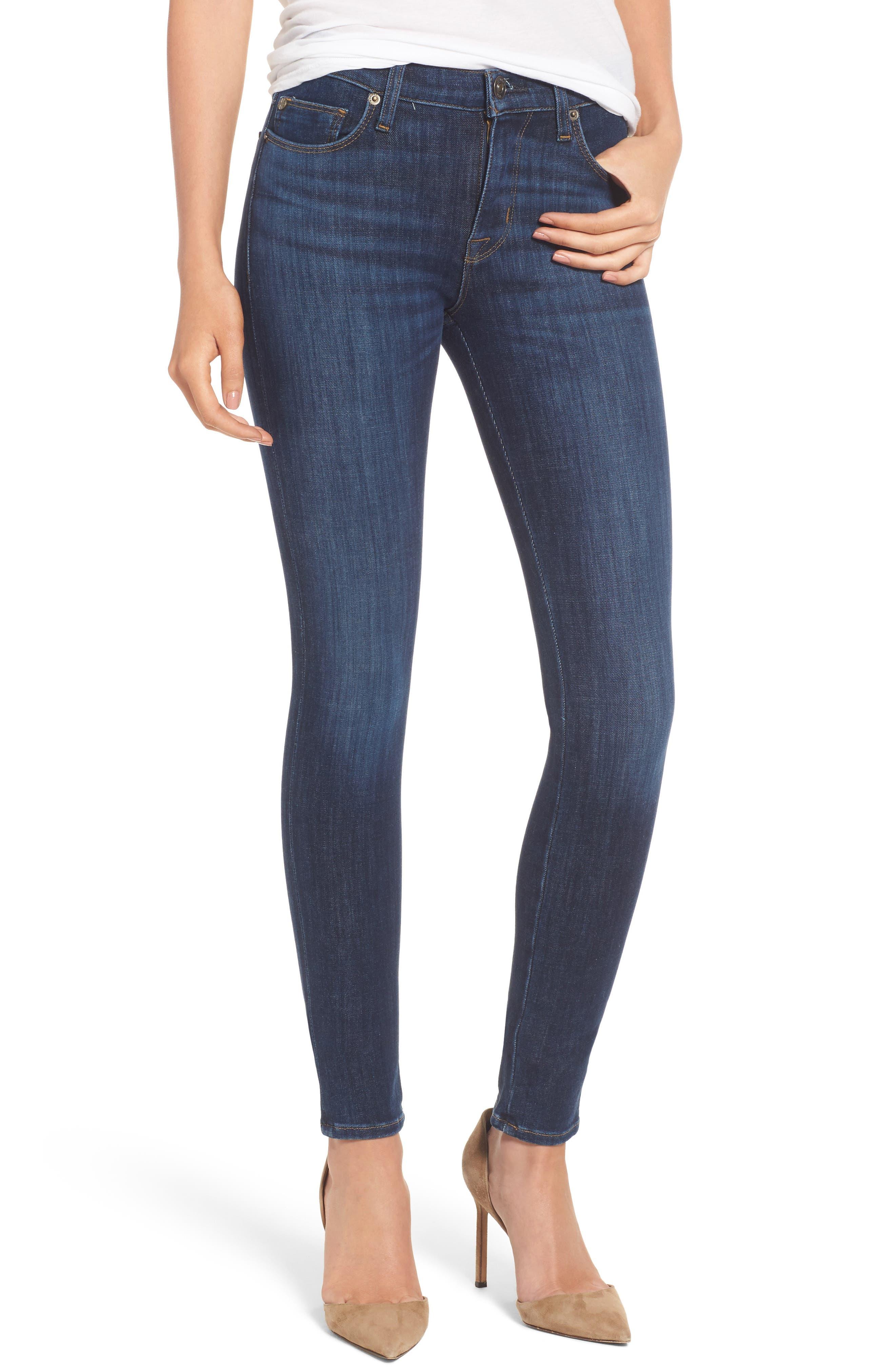 Alternate Image 1 Selected - Hudson Jeans Nico Super Skinny Jeans