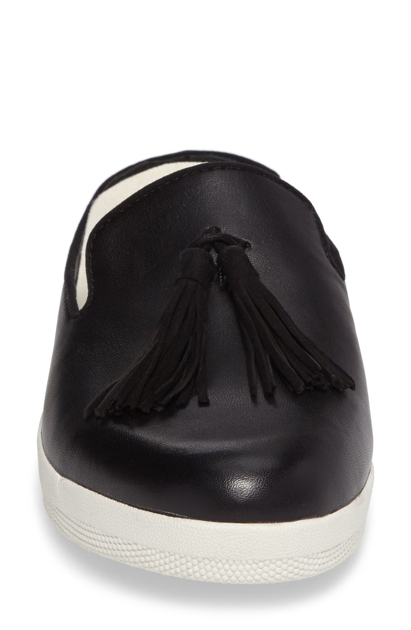 Alternate Image 4  - FitFlop Superskate Tasseled Loafer Mule (Women)