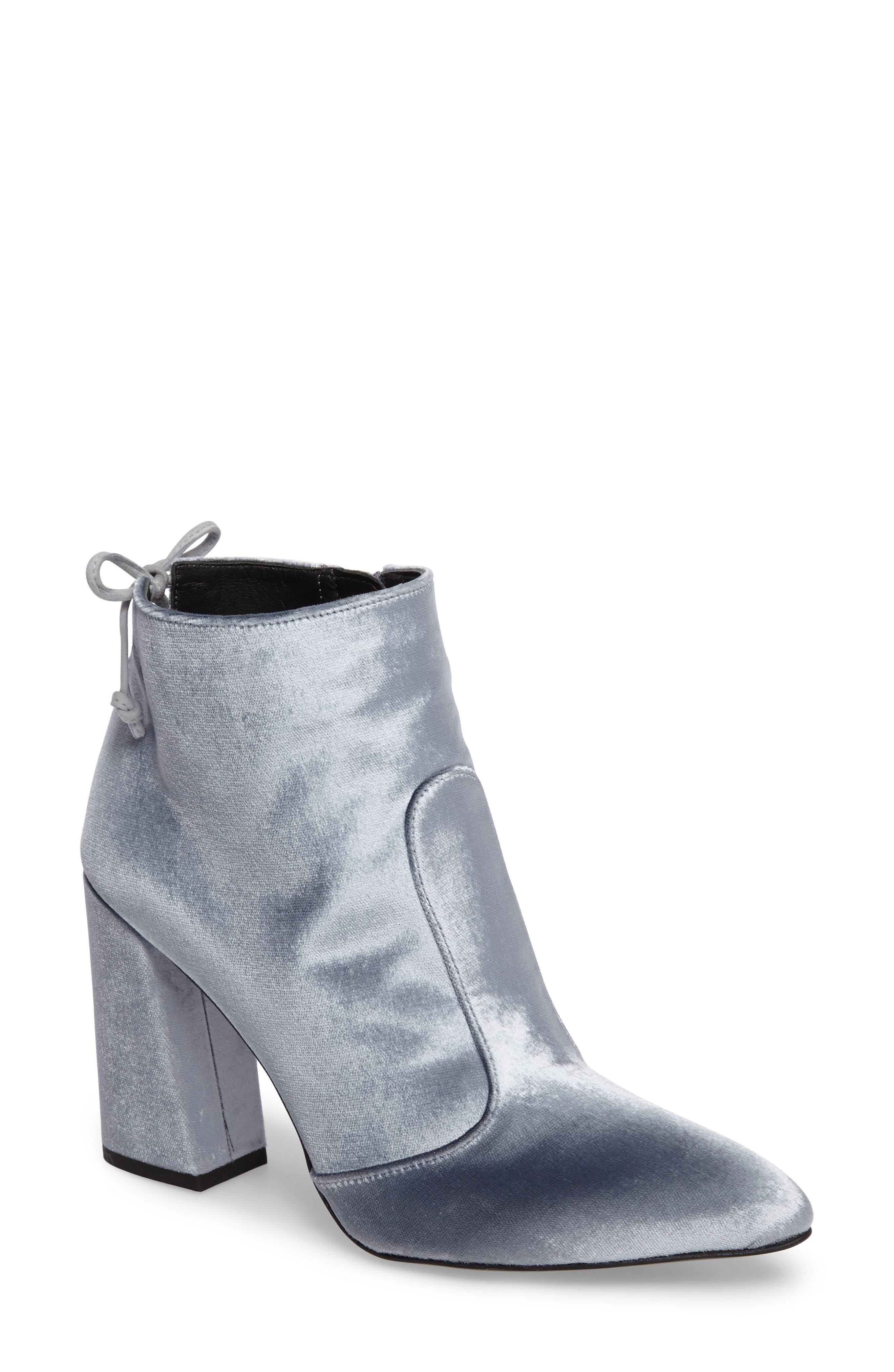 Stuart Weitzman Grandiose Pointy Toe Boot (Women)