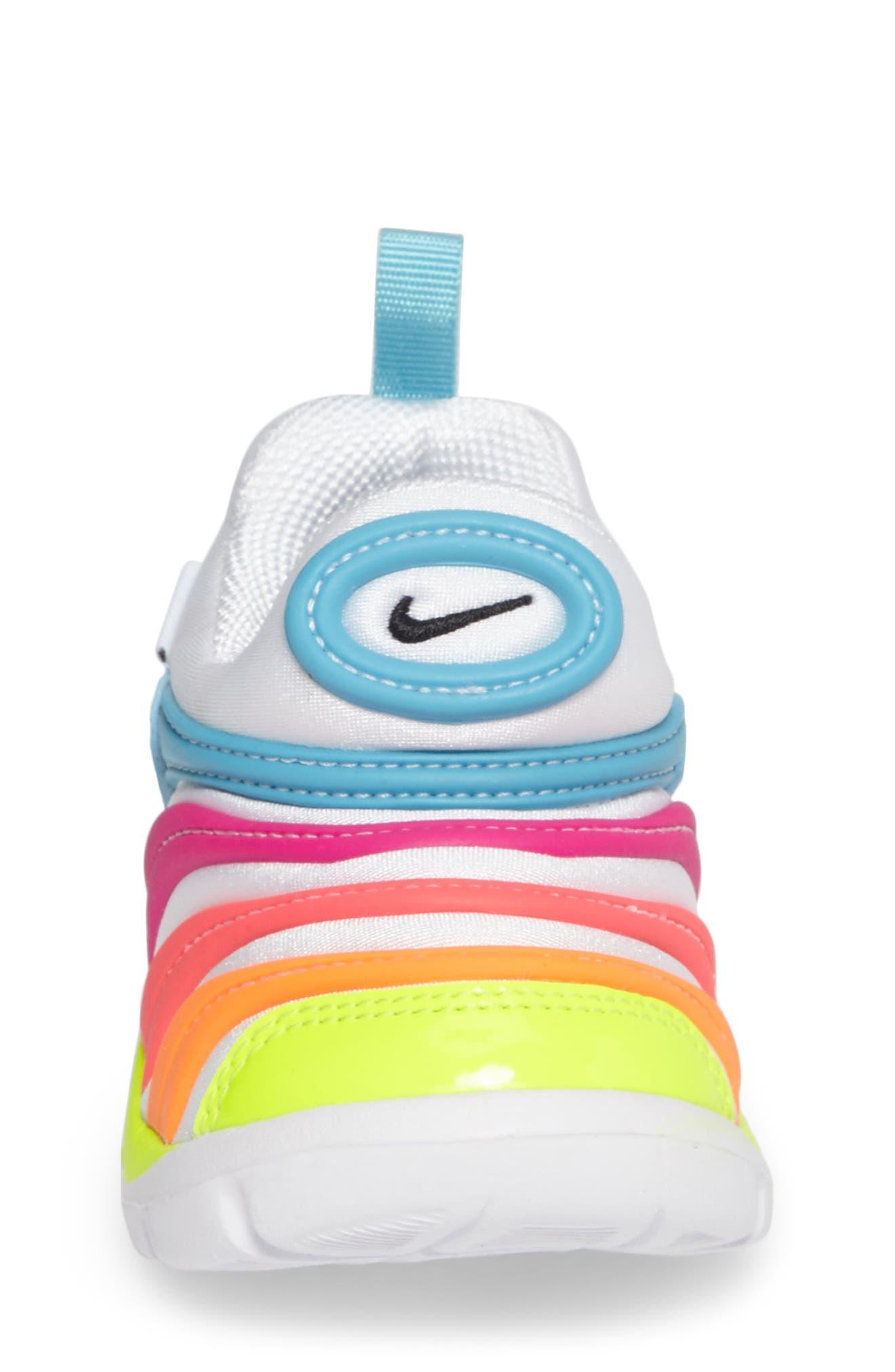 Alternate Image 4  - Nike Dynamo Free Sneaker (Baby, Walker, & Toddler)