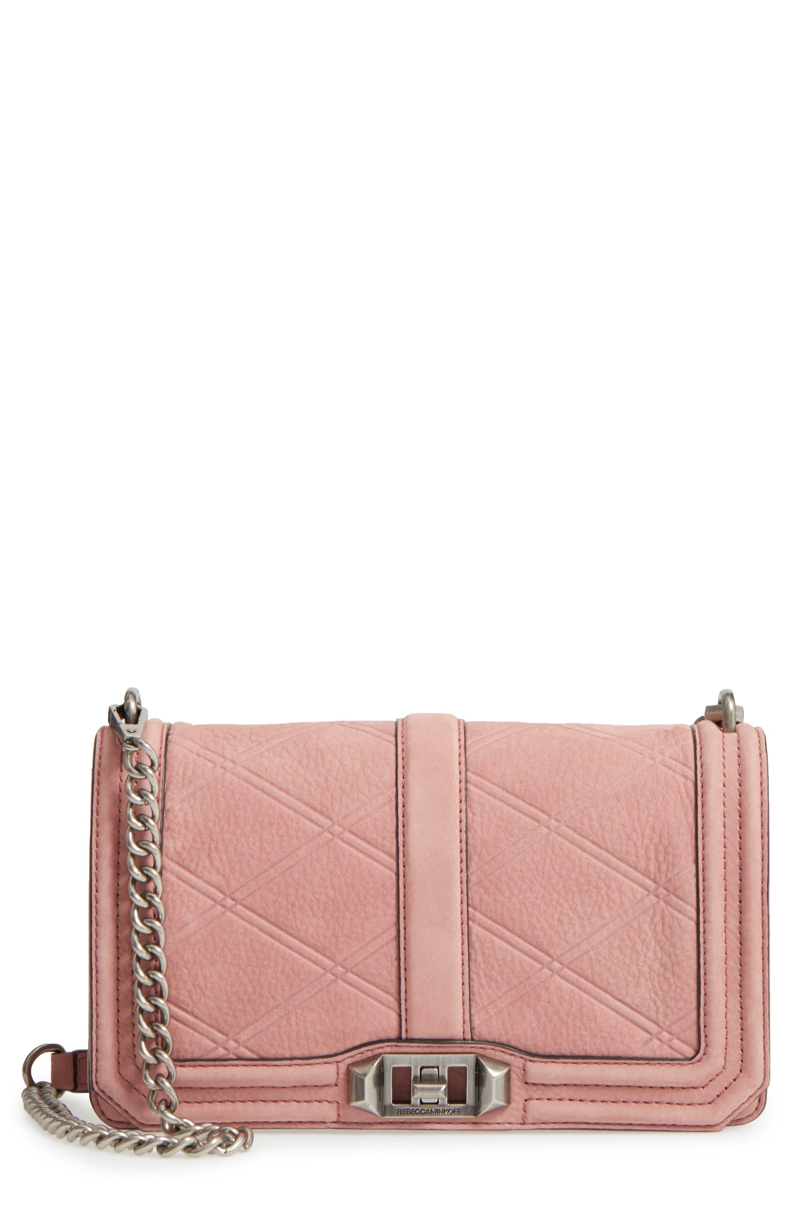 Rebecca Minkoff Love Nubuck Crossbody Bag
