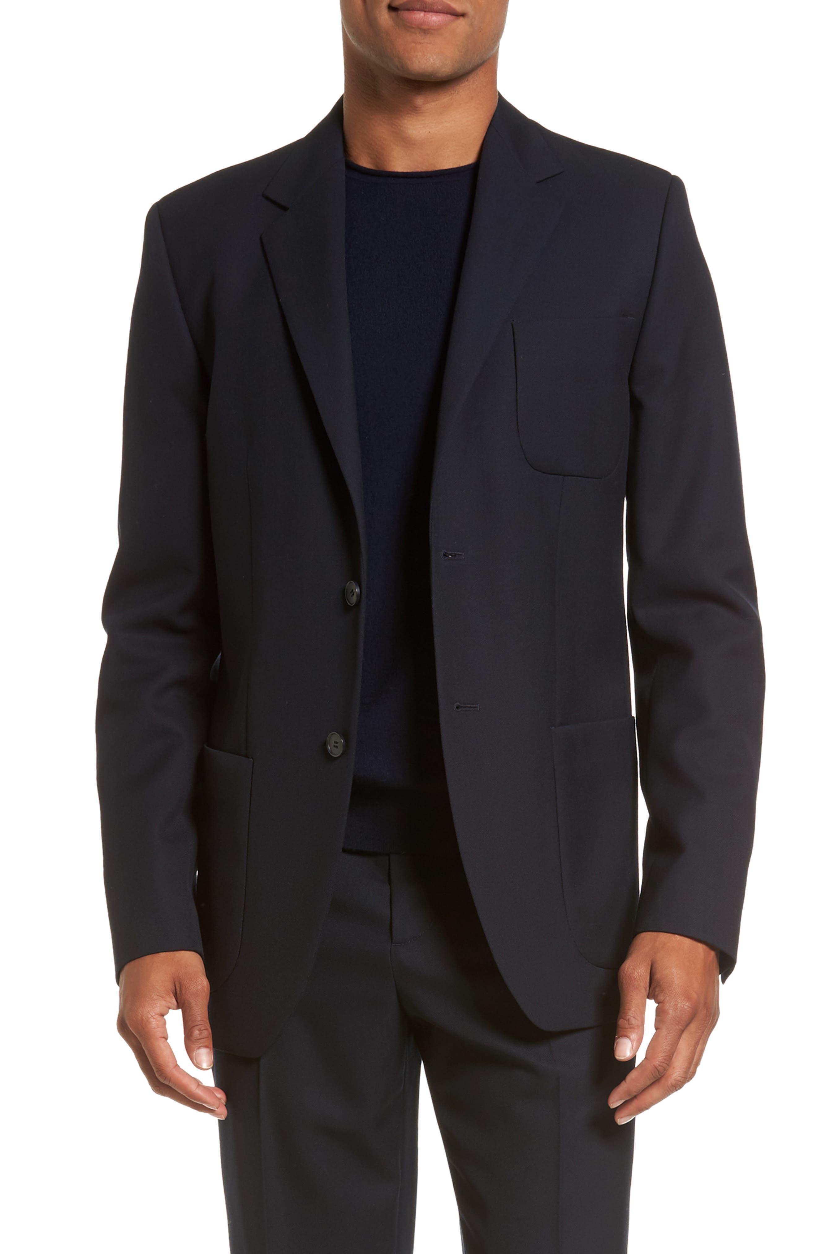 Regular Fit Blazer,                         Main,                         color, Coastal