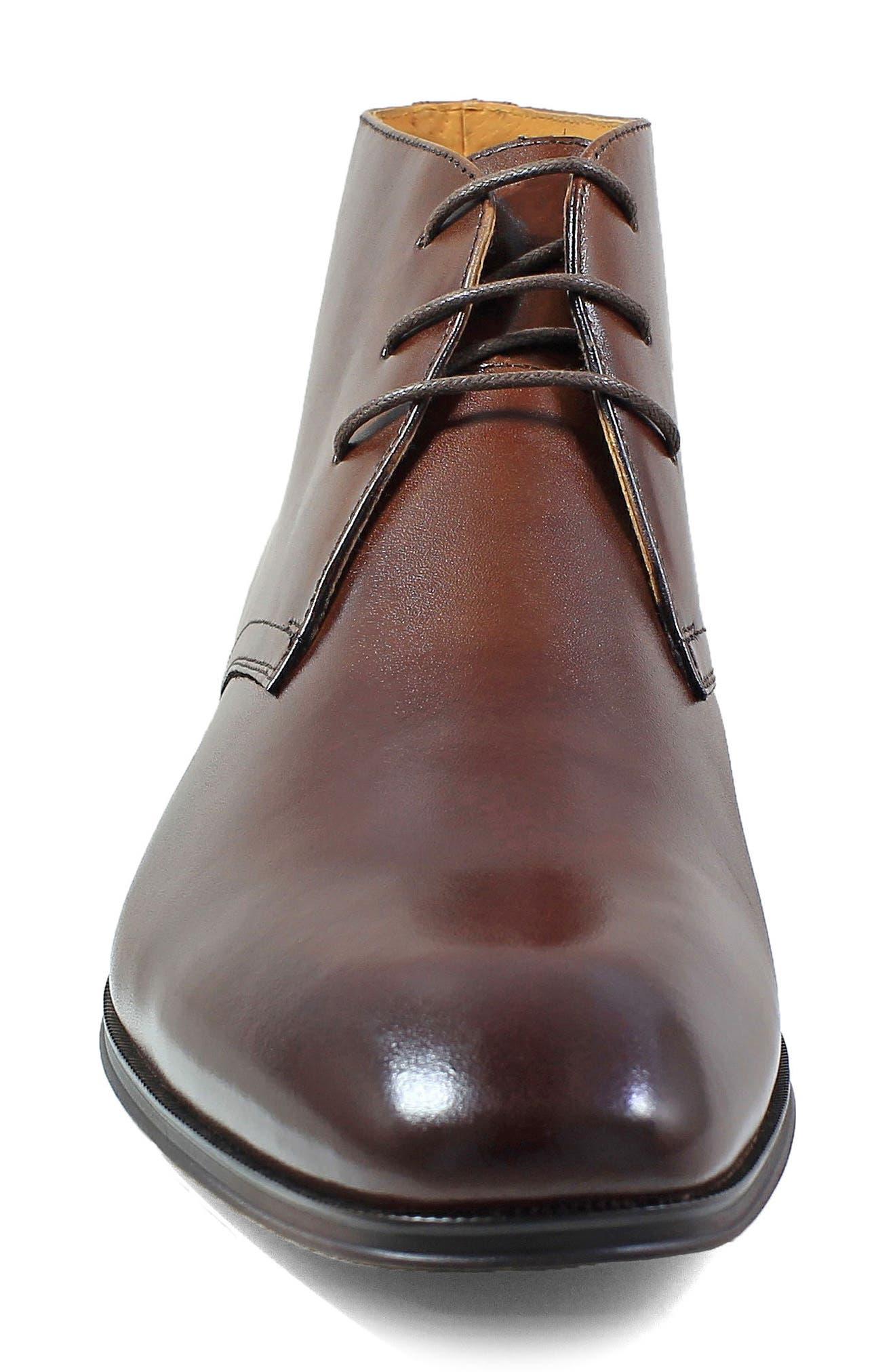 Corbetta Chukka Boot,                             Alternate thumbnail 4, color,                             Cognac Leather
