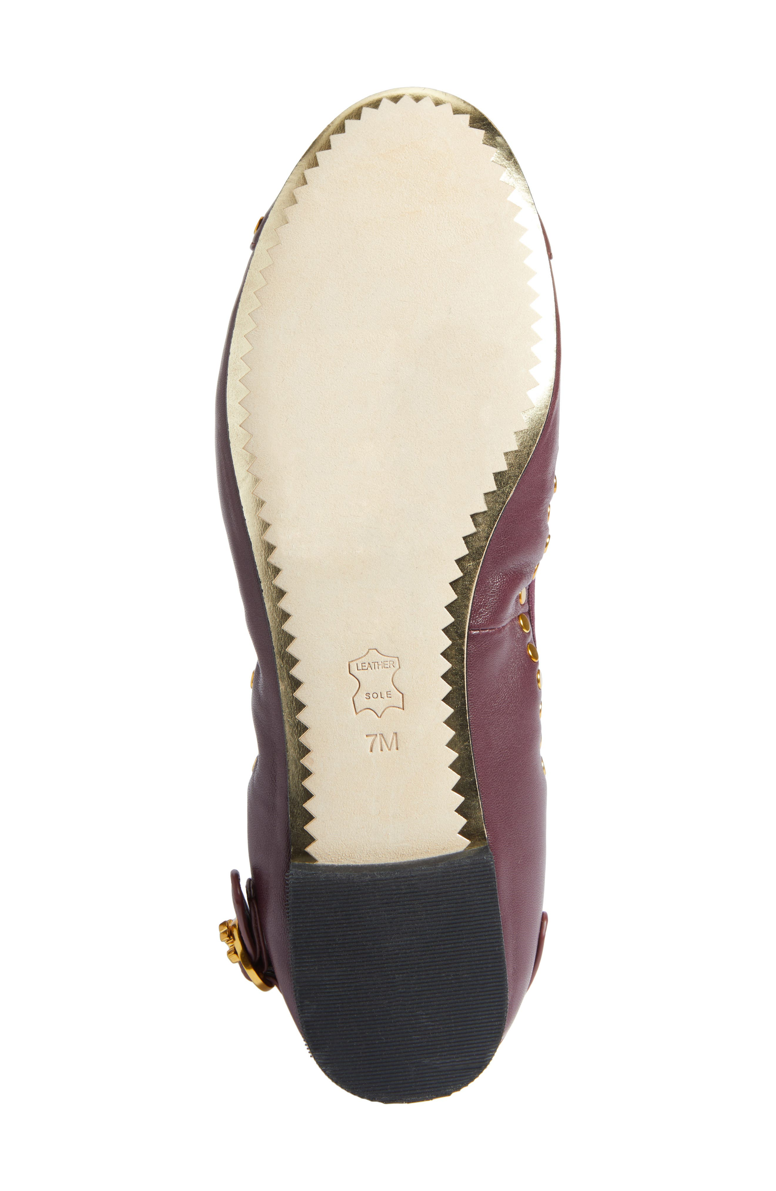 Alternate Image 6  - Tory Burch Holden Studded Cap Toe Flat (Women)