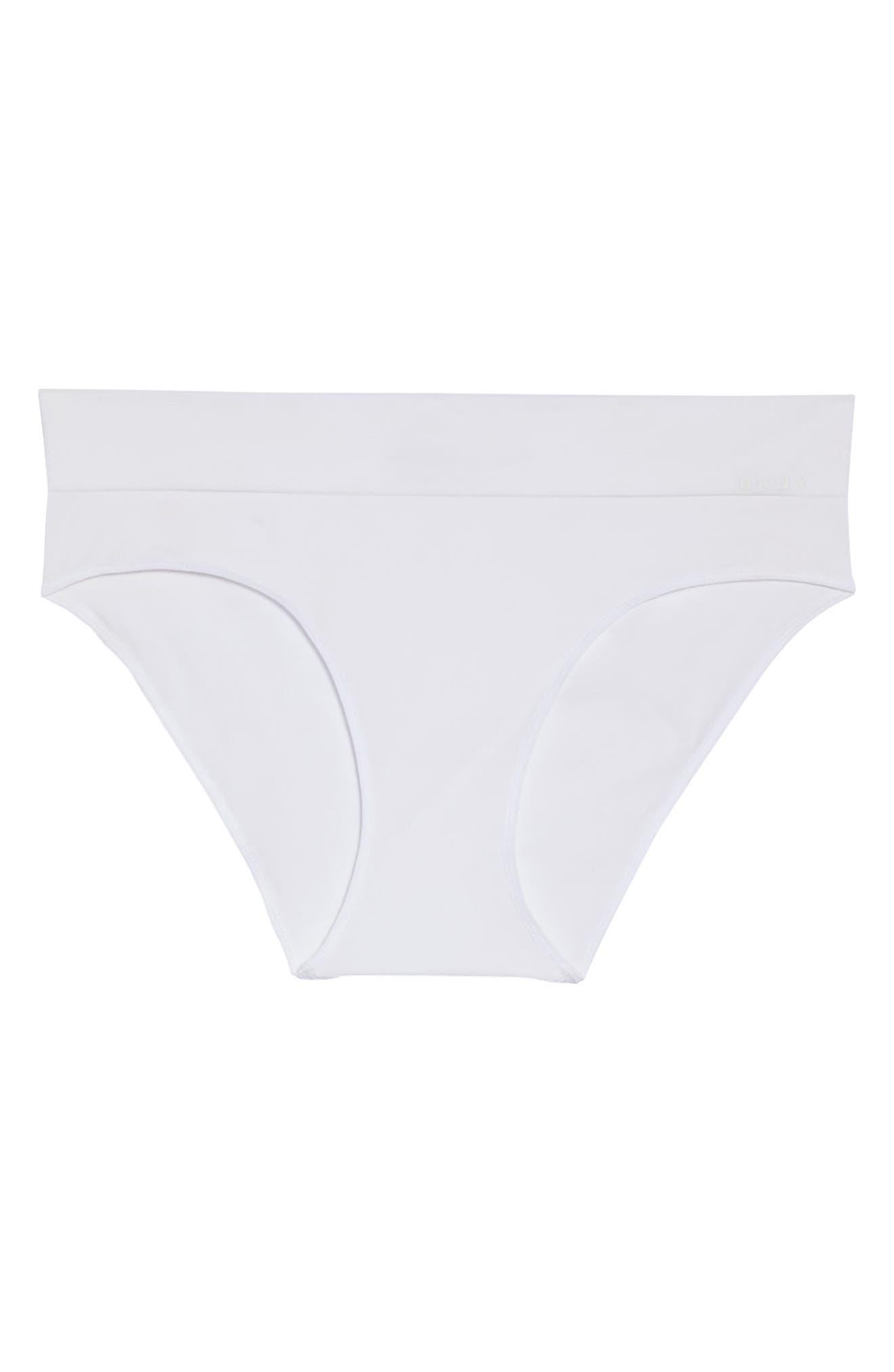Alternate Image 4  - DKNY LiteWear Seamless Bikini (3 for $33)