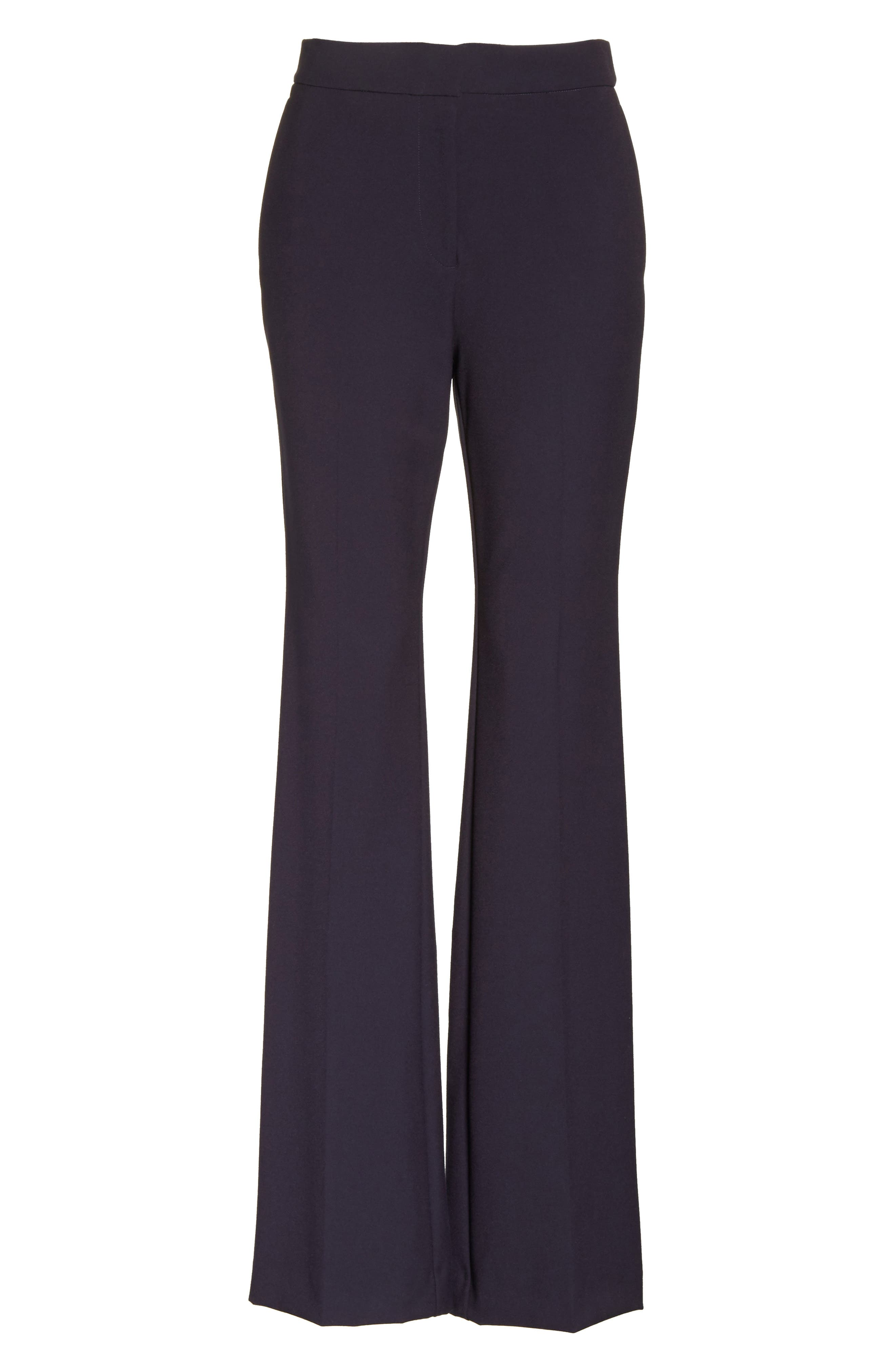 Stretch Suit Pants,                             Alternate thumbnail 6, color,                             Dark Navy