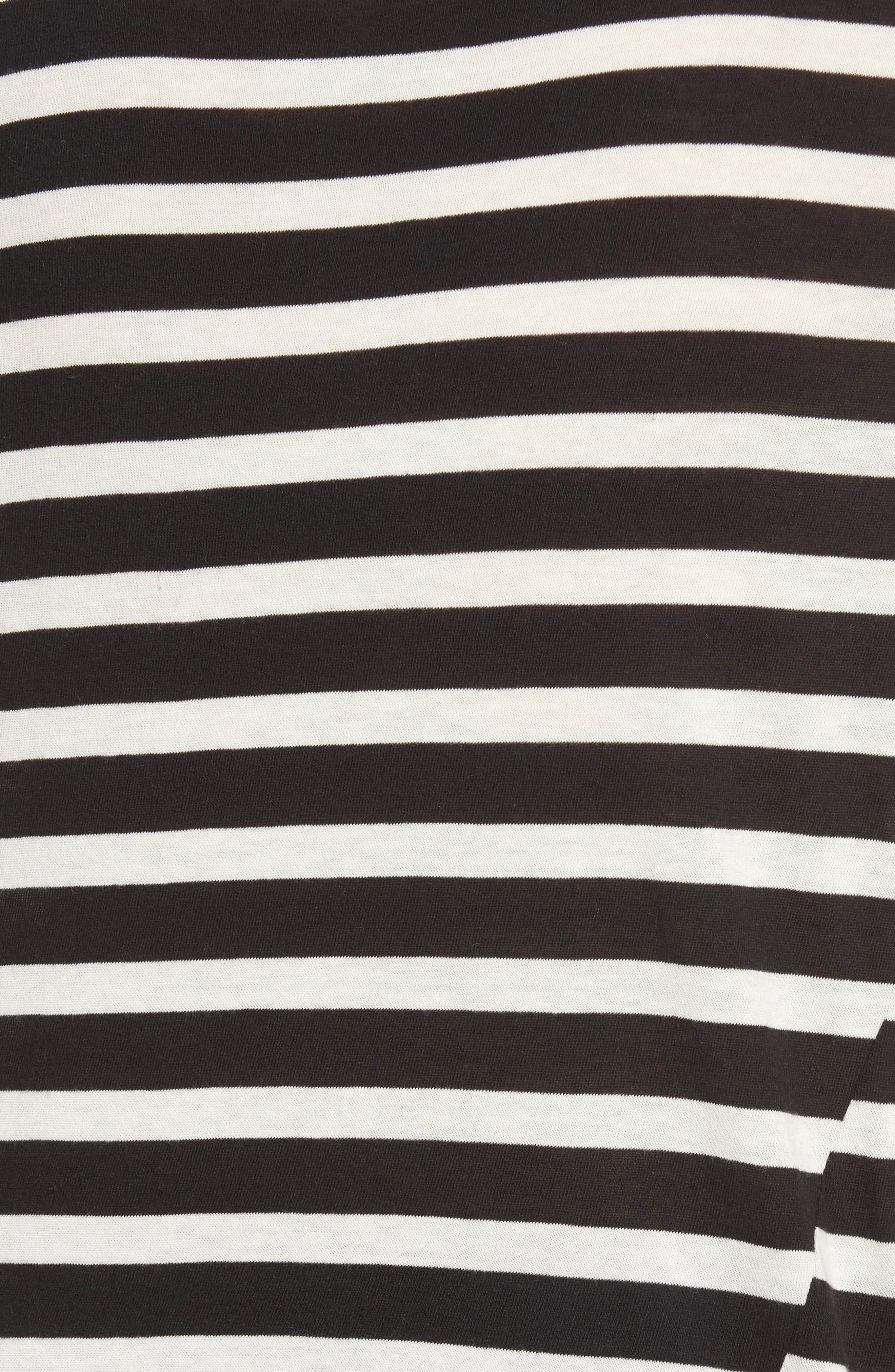 Alternate Image 6  - Pam & Gela Stripe Long Sleeve Top