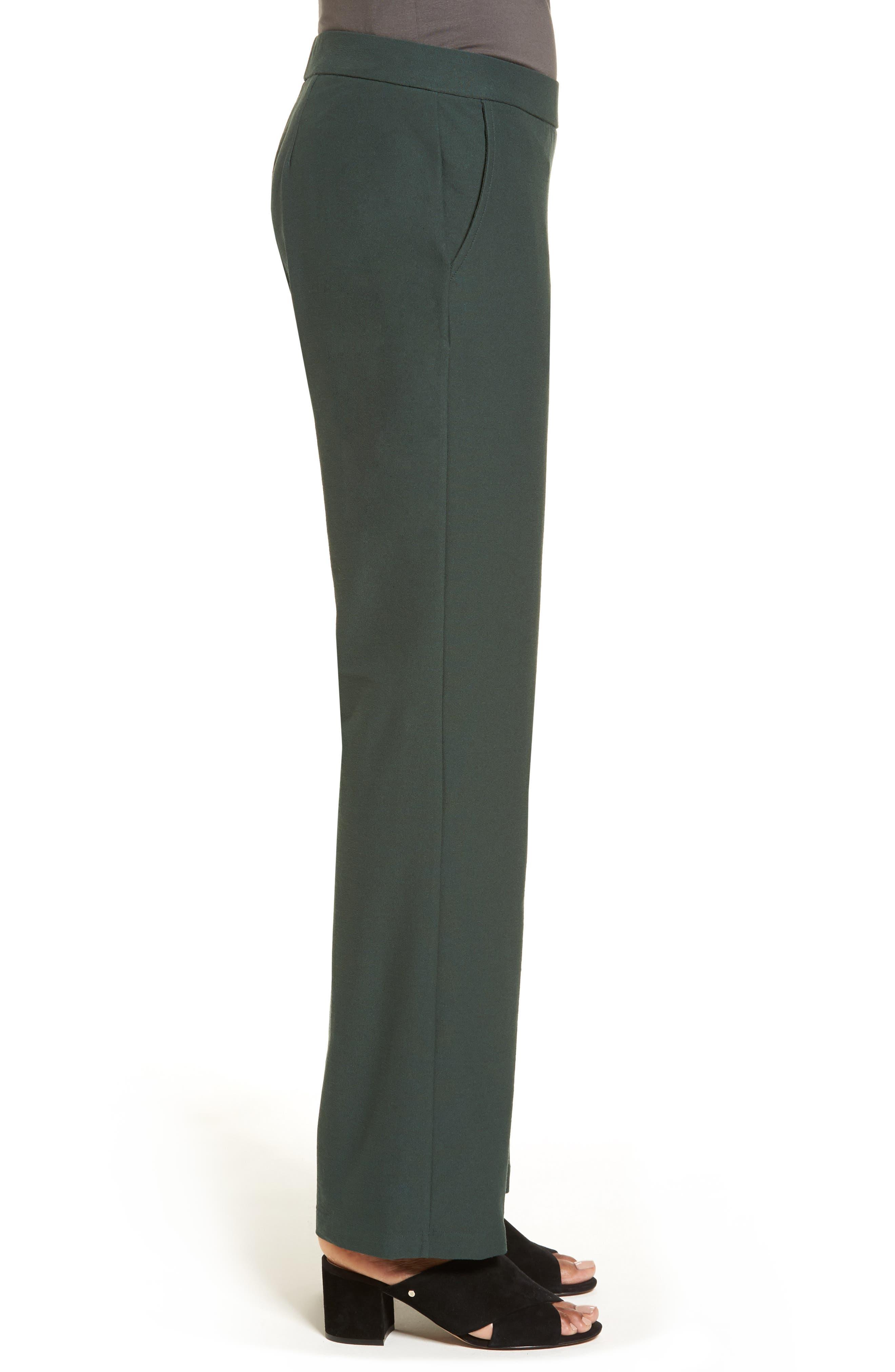 Alternate Image 3  - Eileen Fisher Straight Leg Pants