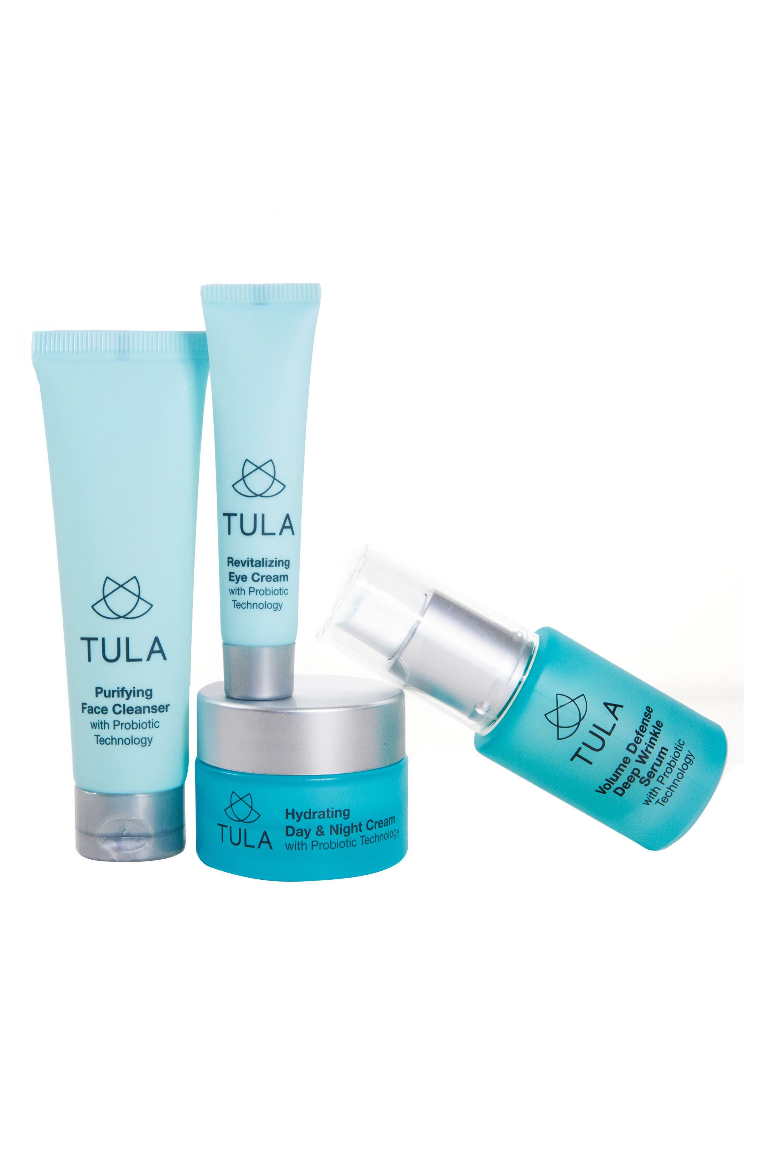 Tula Probiotic Skincare Anti-Aging Discovery Kit ($126 Value)