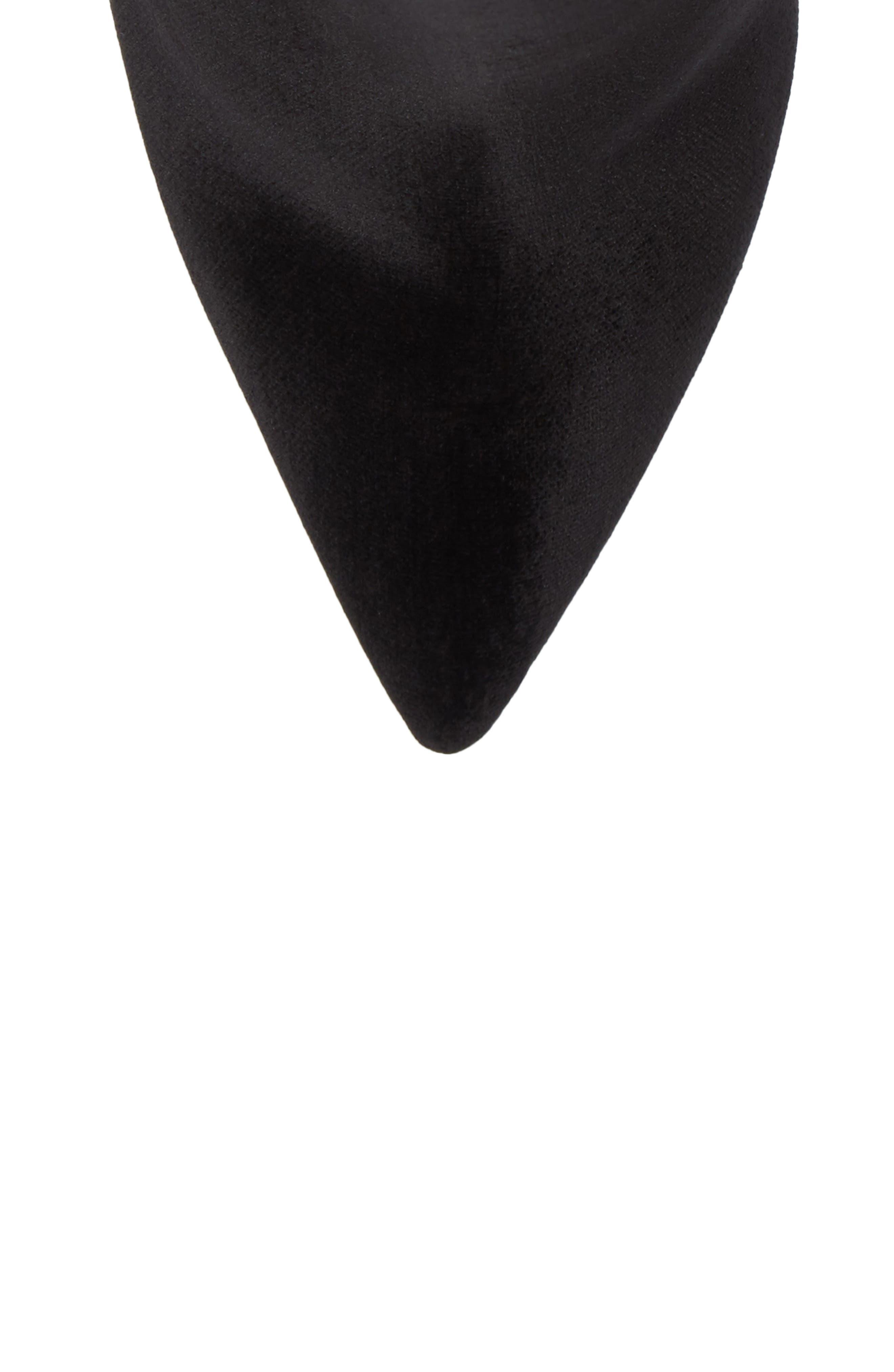 Bolgheri Bootie,                             Alternate thumbnail 5, color,                             Black Velvet