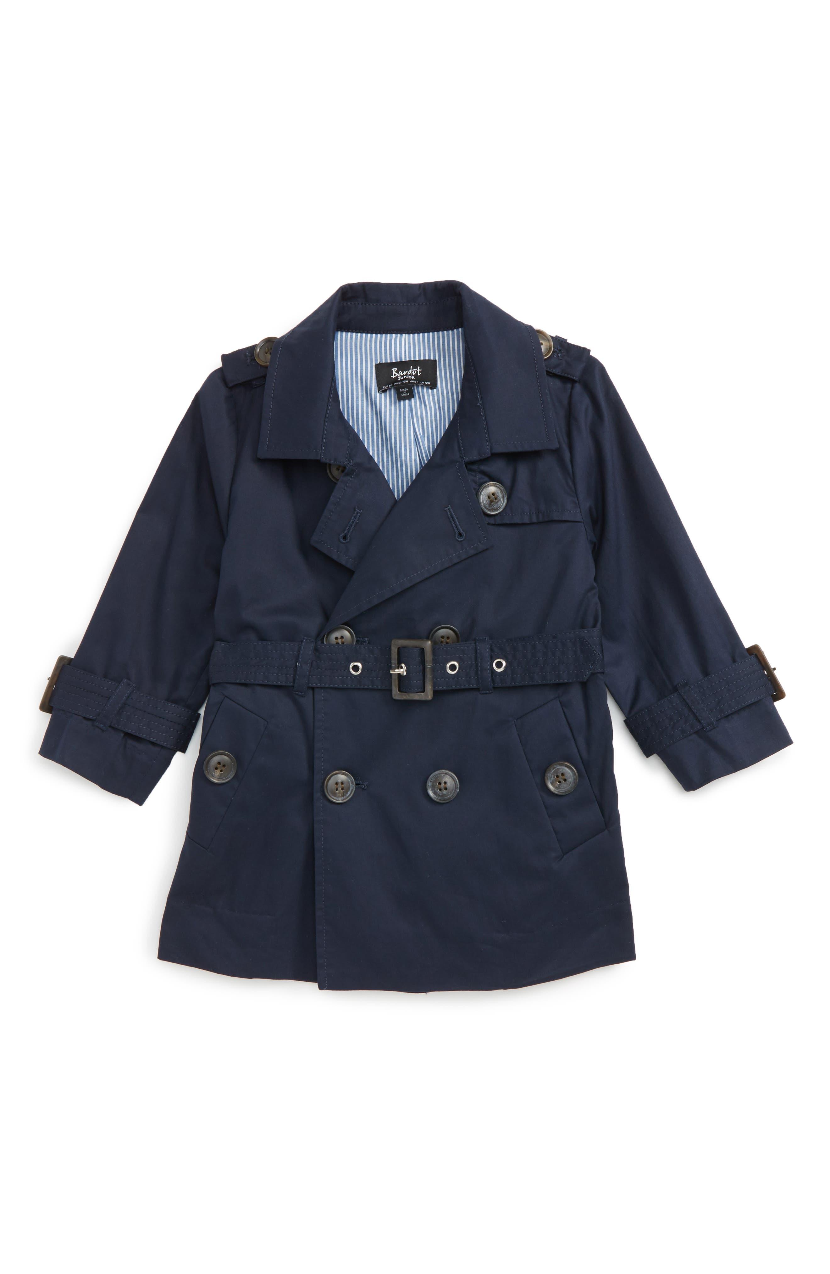 Bardot Junior Ryder Trench Coat (Baby Boys & Toddler Boys)