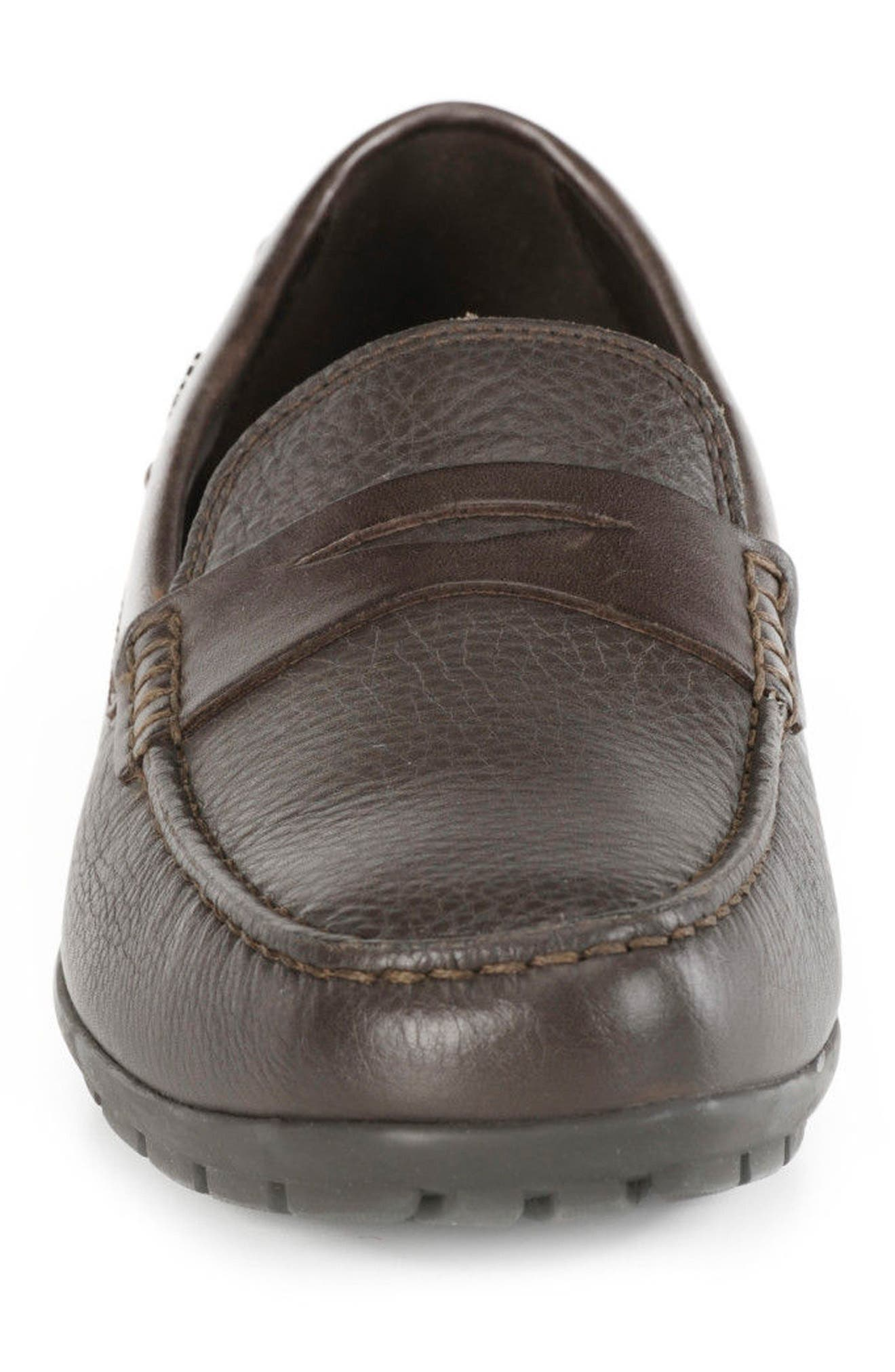 Monet W 2Fit Driving Moccasin,                             Alternate thumbnail 4, color,                             Dark Coffee/ Coffee