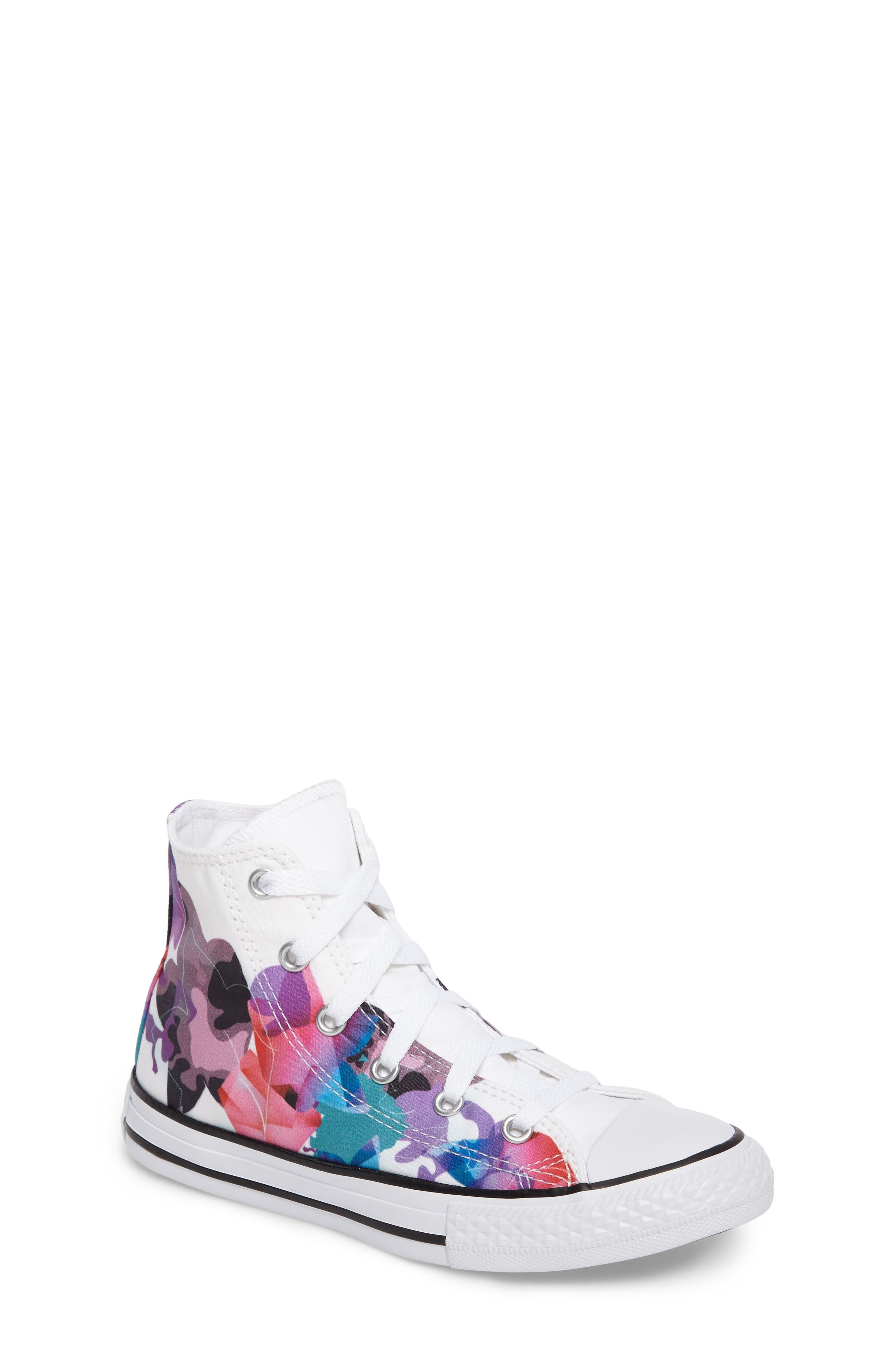 Converse Chuck Taylor® All Star® Print High Top Sneaker (Toddler, Little Kid & Big Kid)