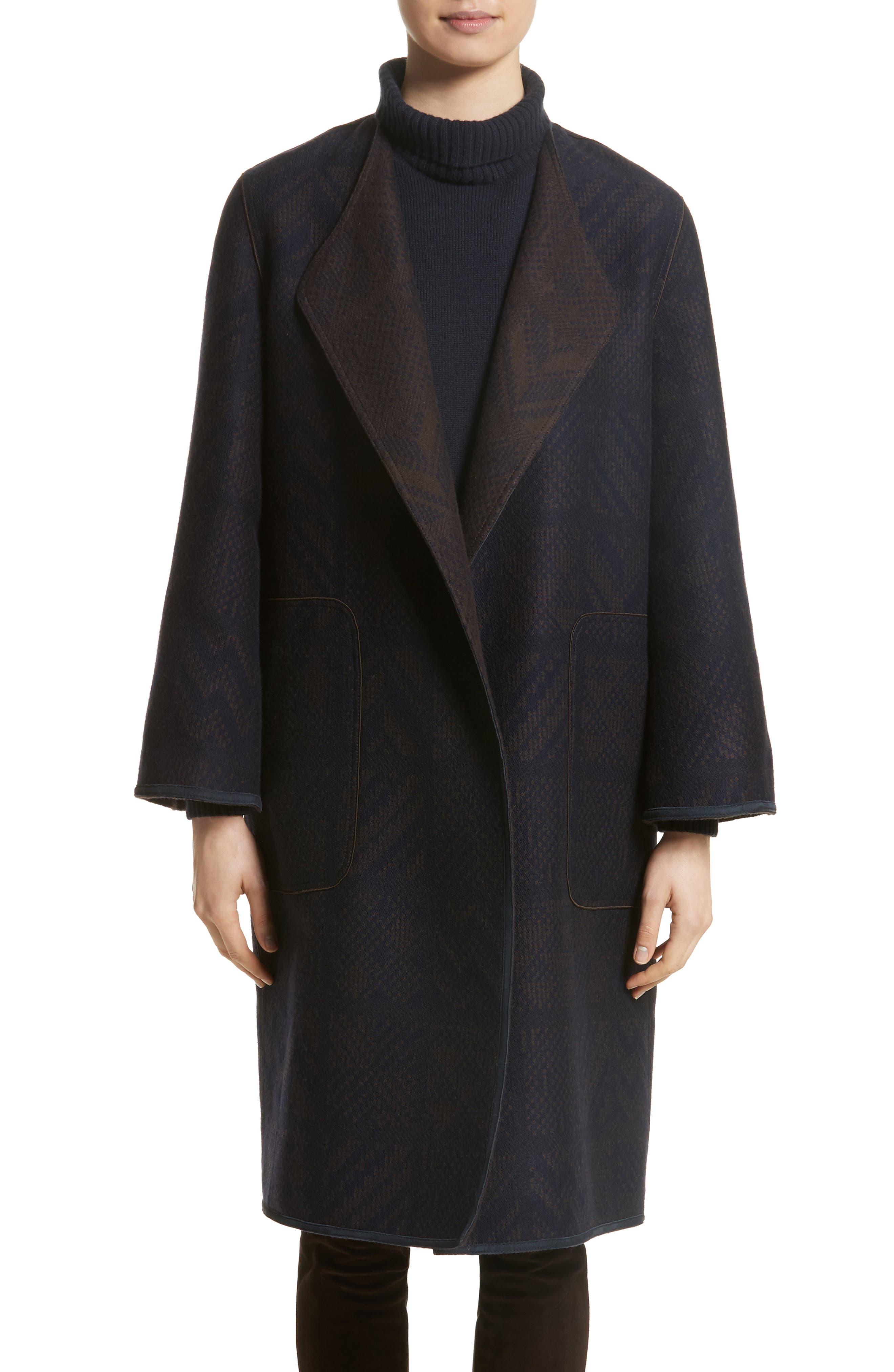 McCall Reversible Coat,                         Main,                         color, Ink Multi