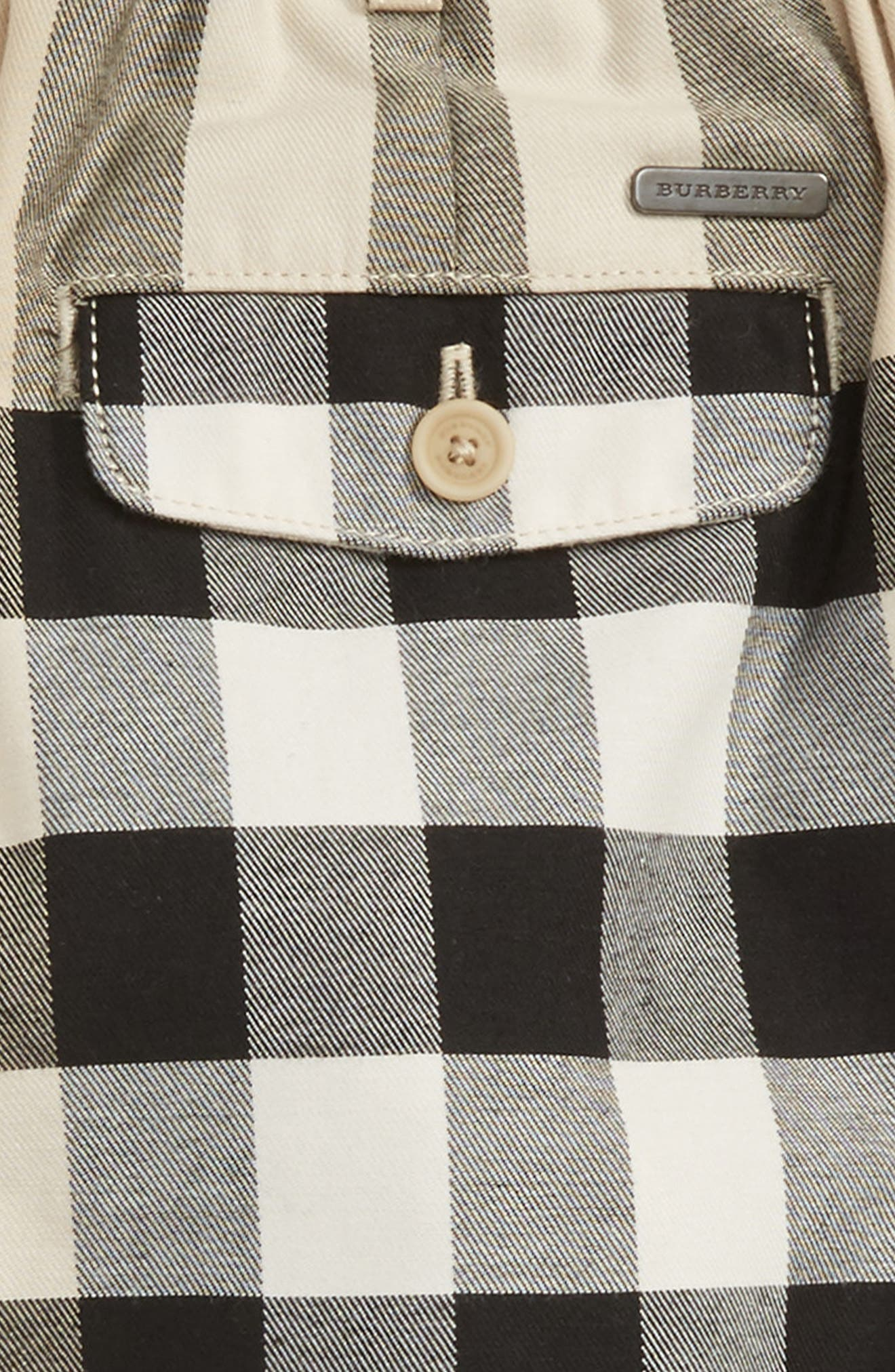 Alternate Image 3  - Burberry Sean Check Print Shorts (Baby Boys)