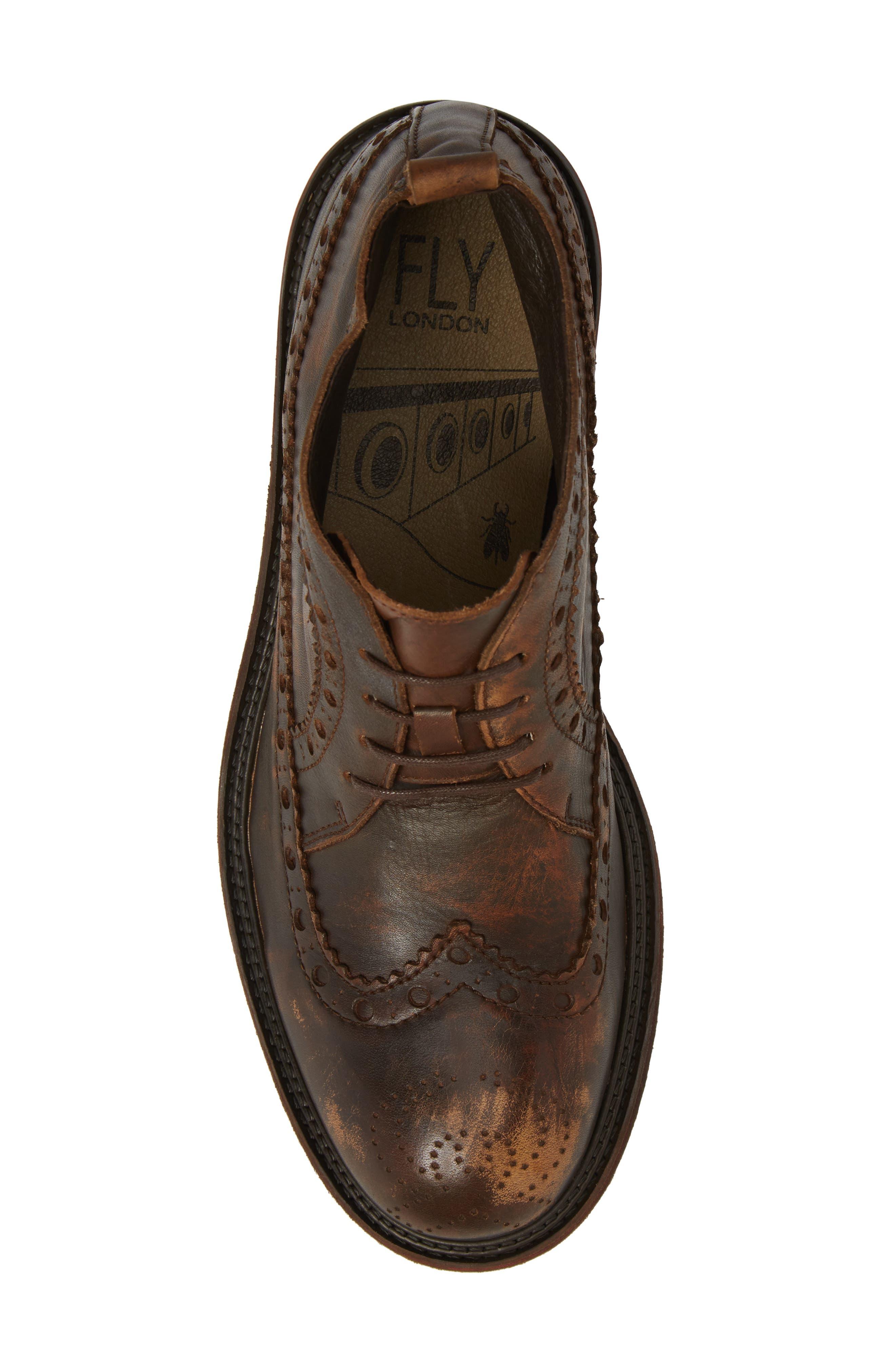 Alternate Image 5  - Fly London Wile Wingtip Chukka Boot (Men)