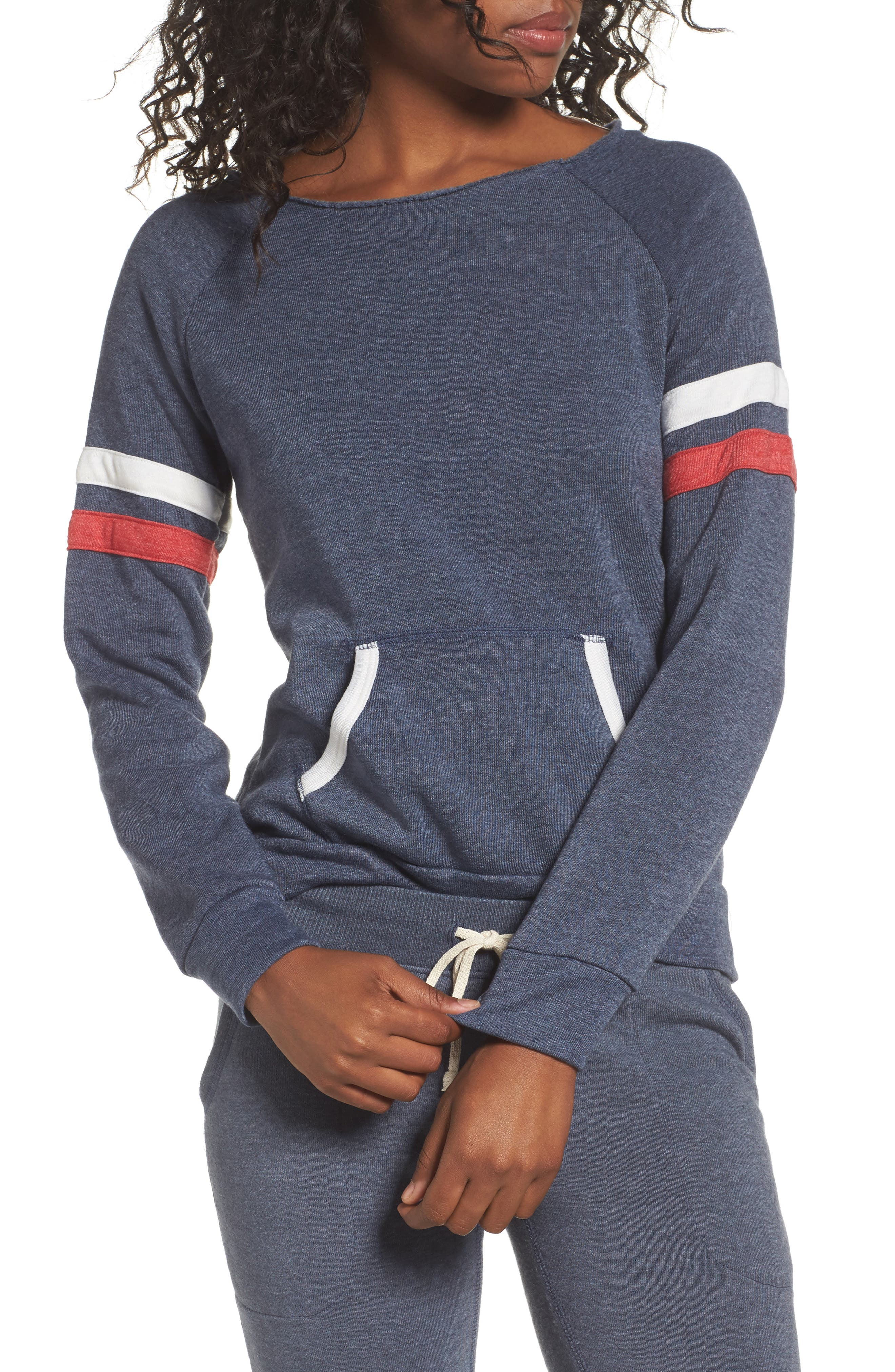 Maniac Sport Pullover,                             Main thumbnail 1, color,                             Eco True Navy