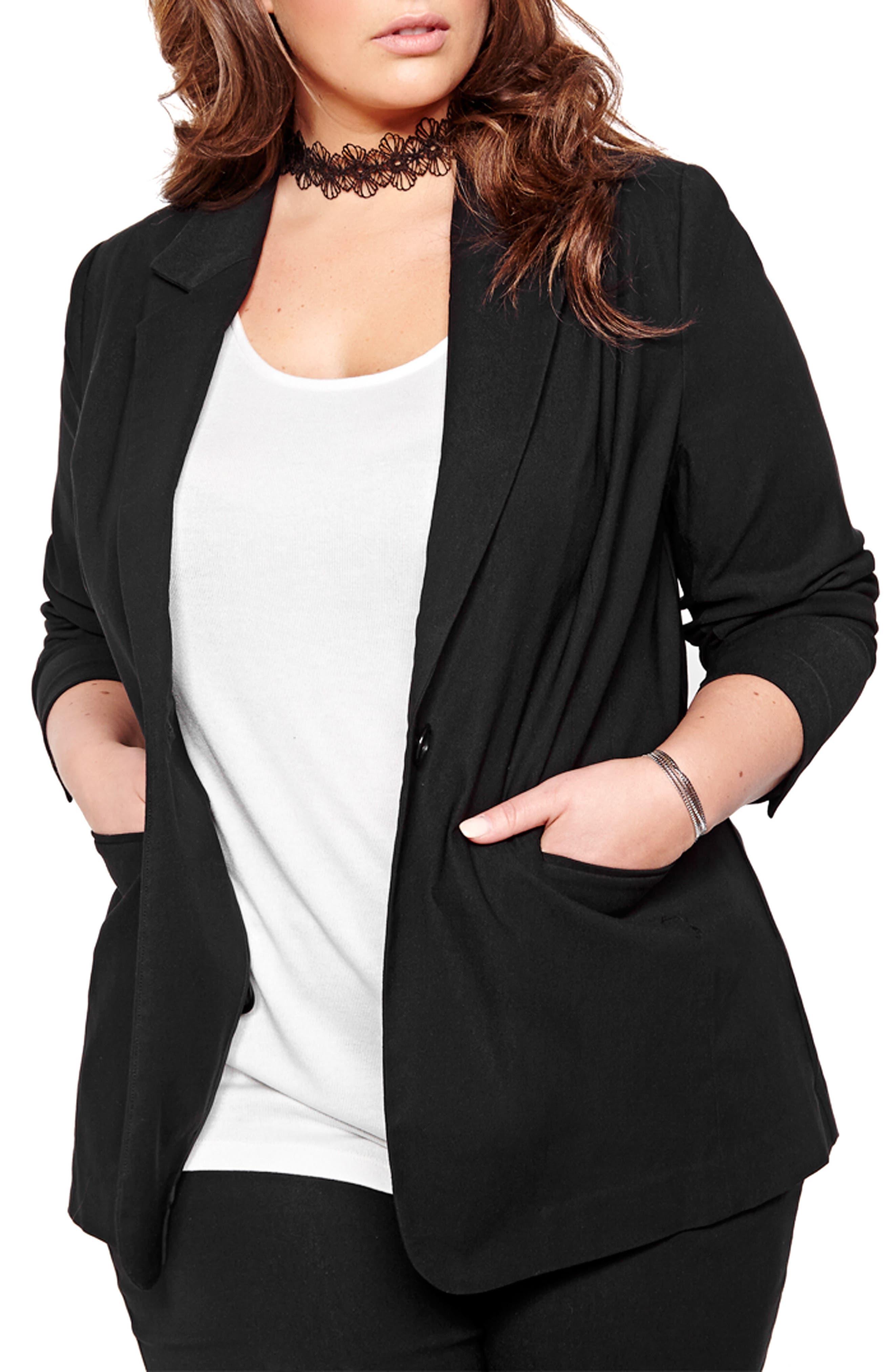 MICHEL STUDIO Notch Collar Jacket