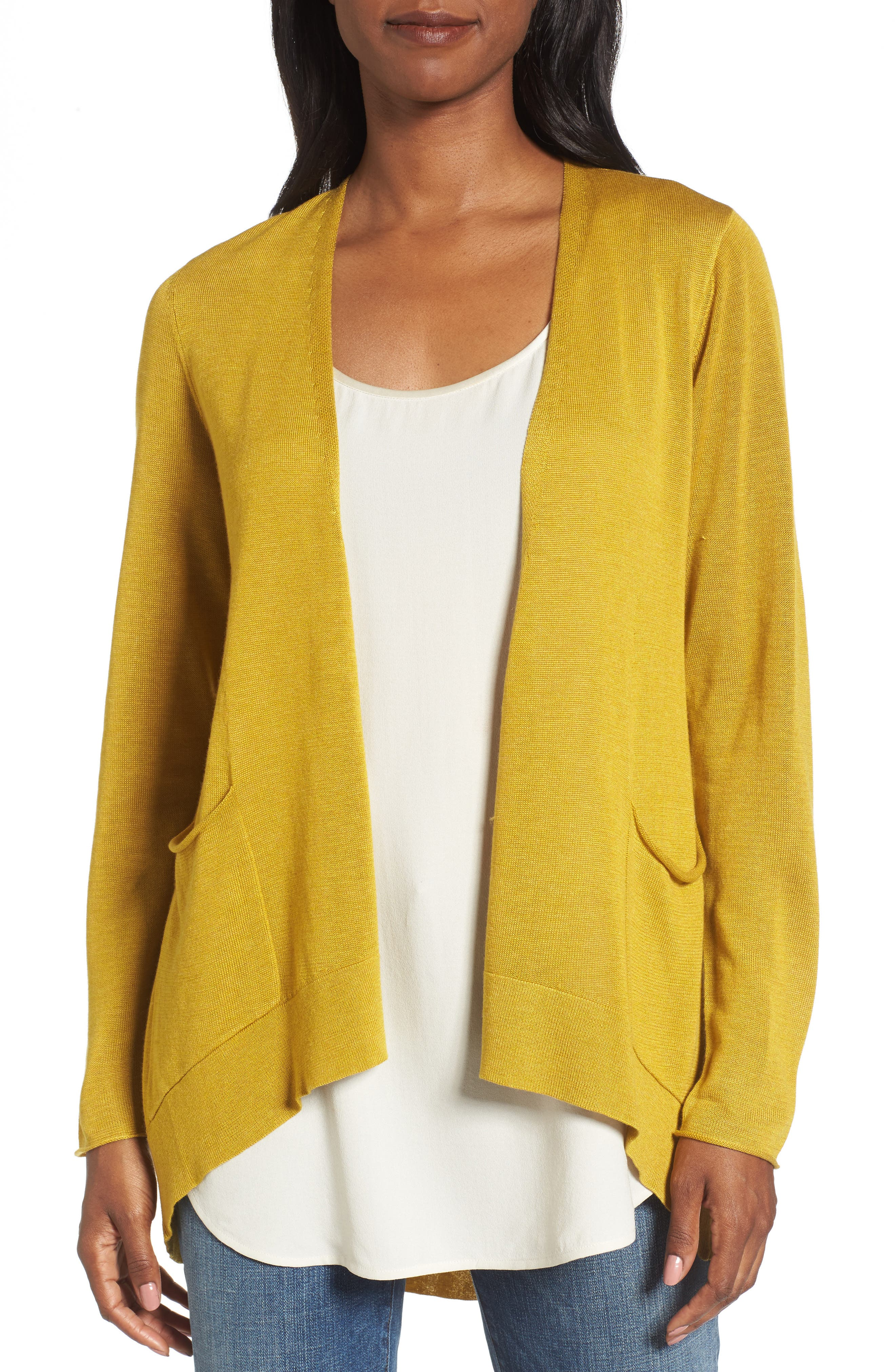 Eileen Fisher Slouchy Tencel® Blend Cardigan