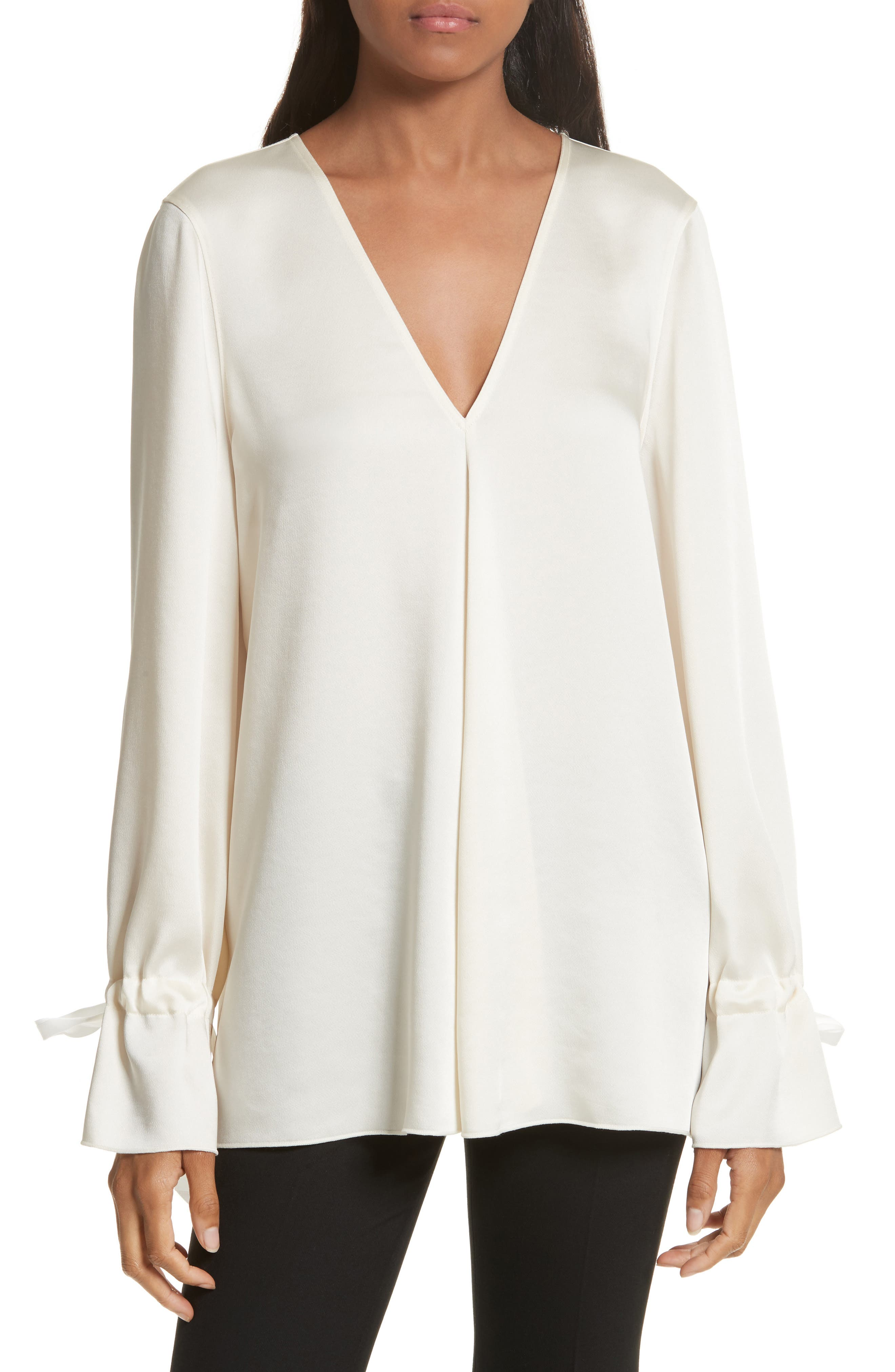 ELIZABETH AND JAMES Adalina Tie Cuff Blouse