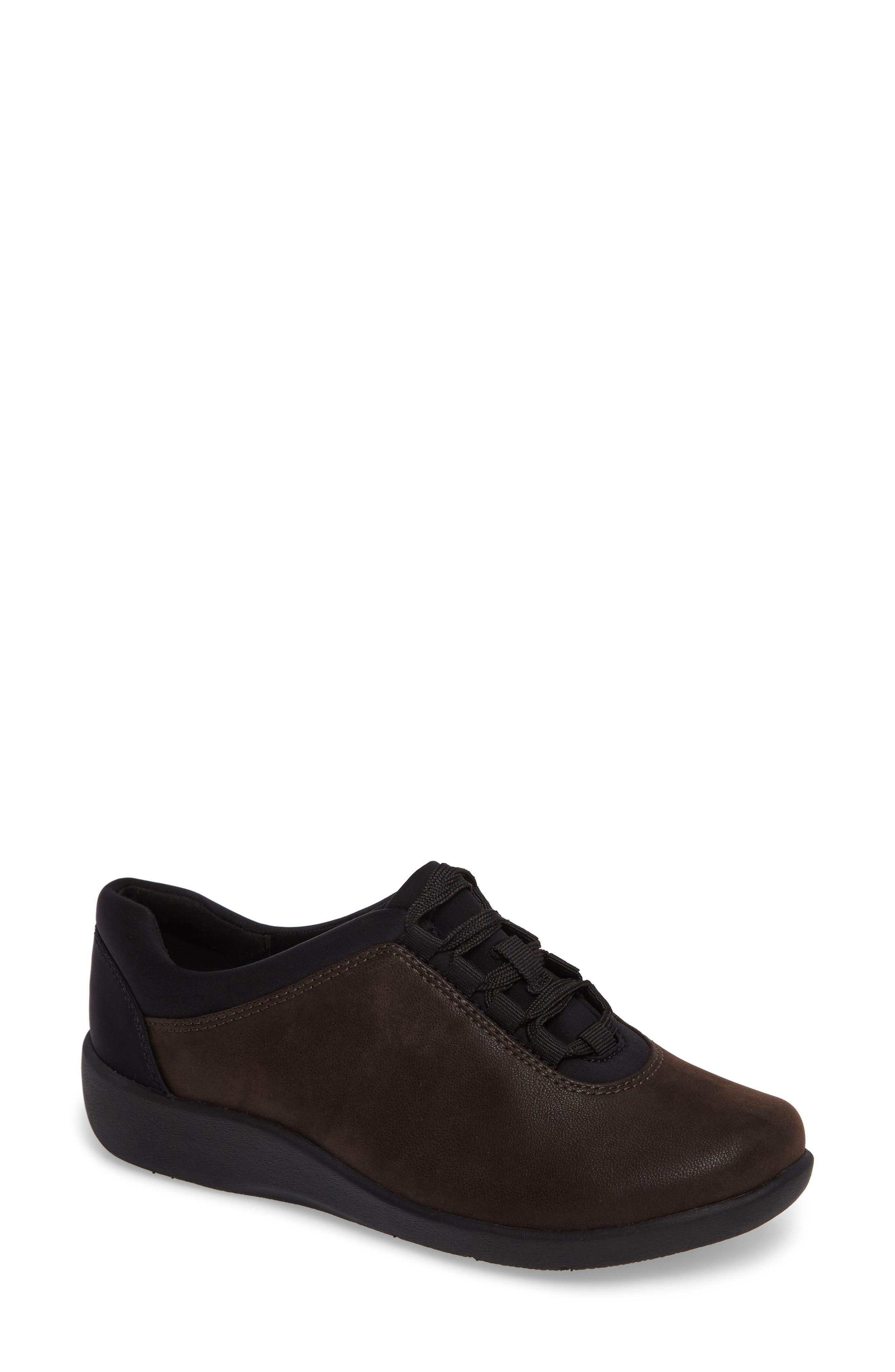 Sillian Pine Sneaker,                         Main,                         color, Brown Canvas