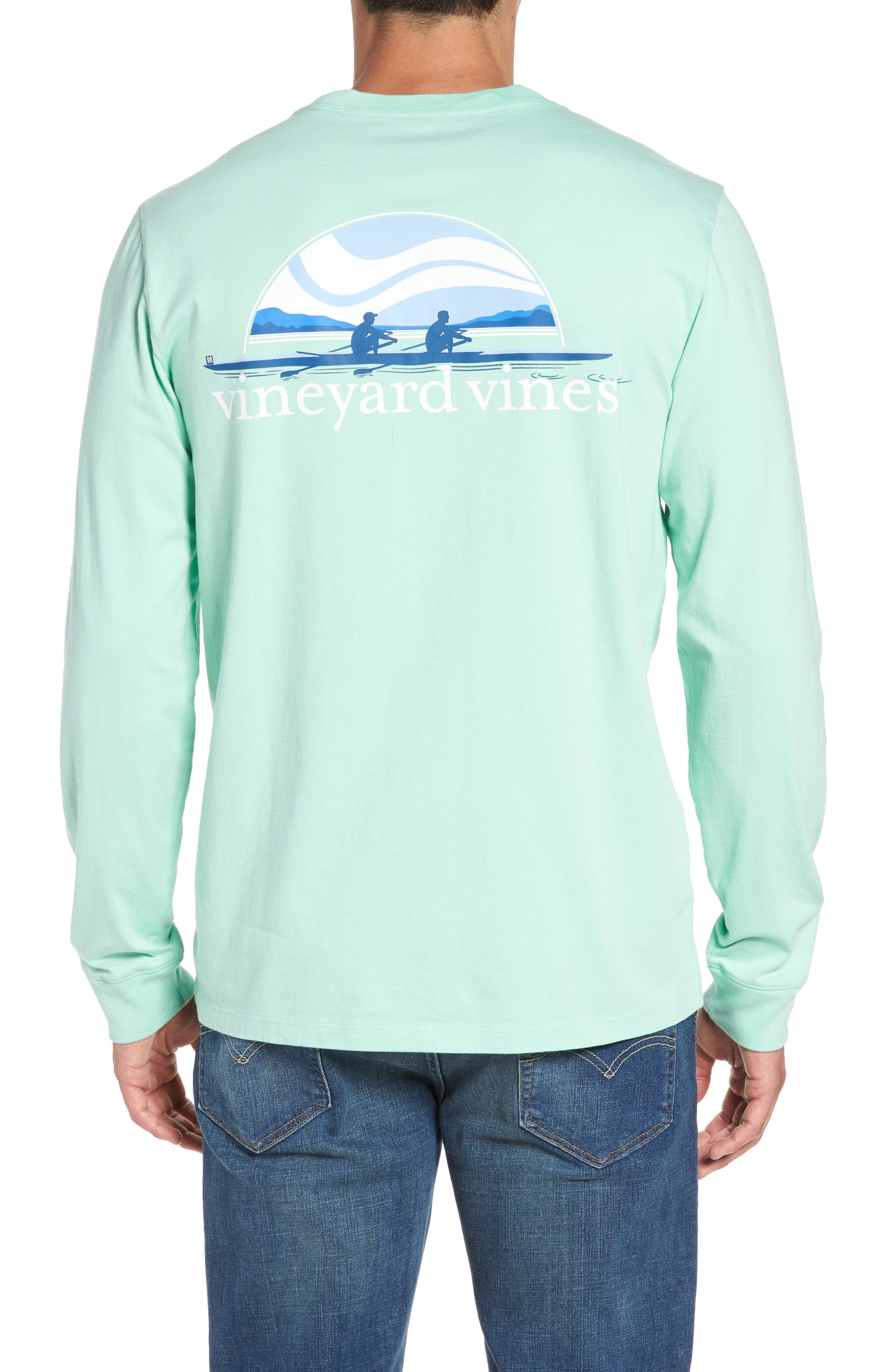 Alternate Image 1 Selected - Vineyard Vines Rowing Graphic T-Shirt
