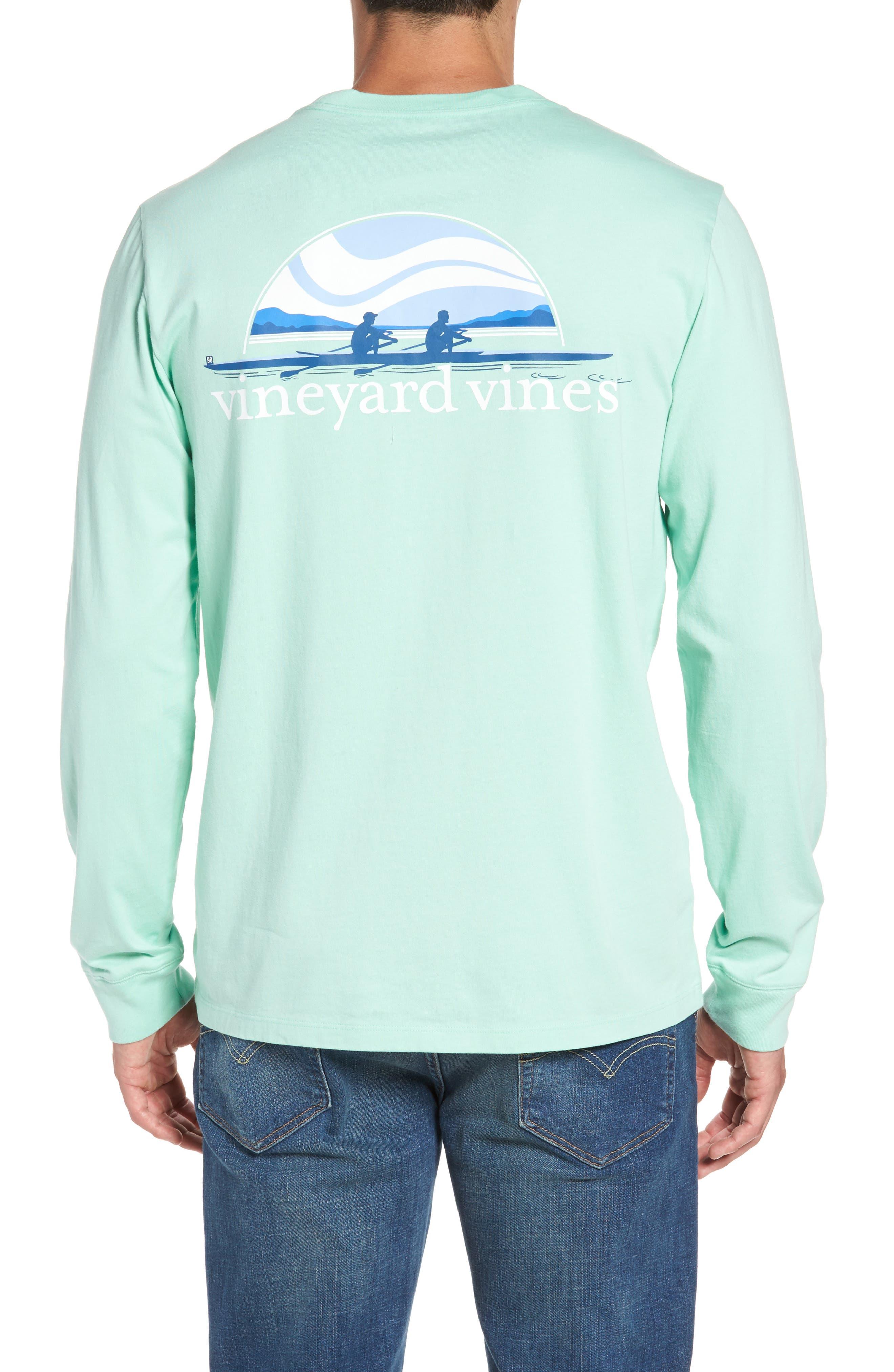 Rowing Graphic T-Shirt,                         Main,                         color, Hammock Green