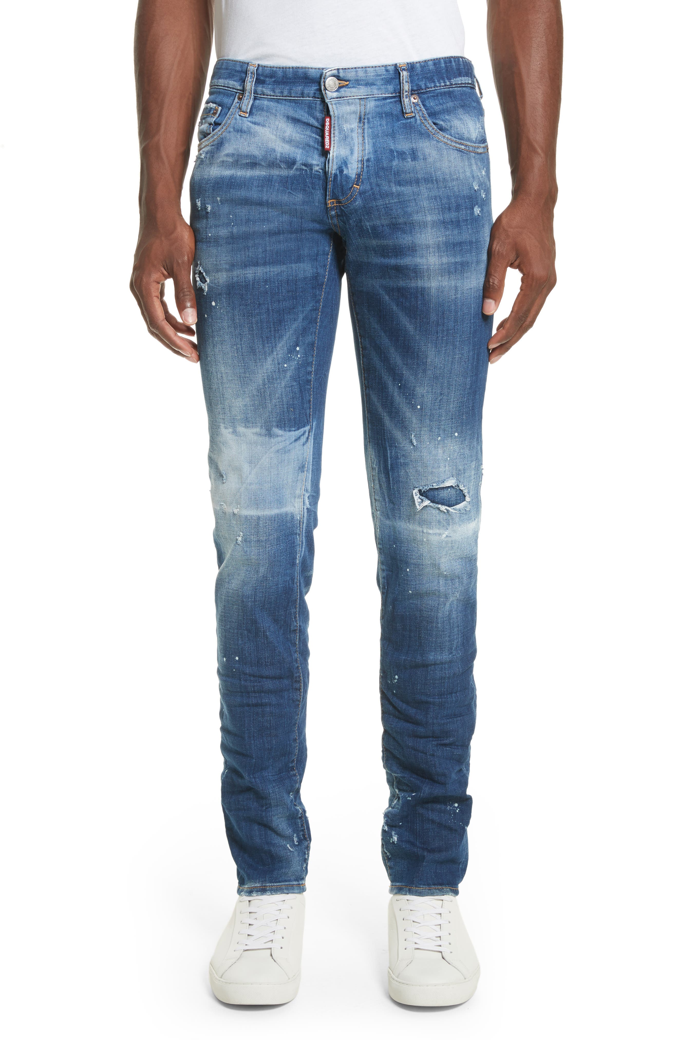 DSQUARED2 Canadian Patch Jeans