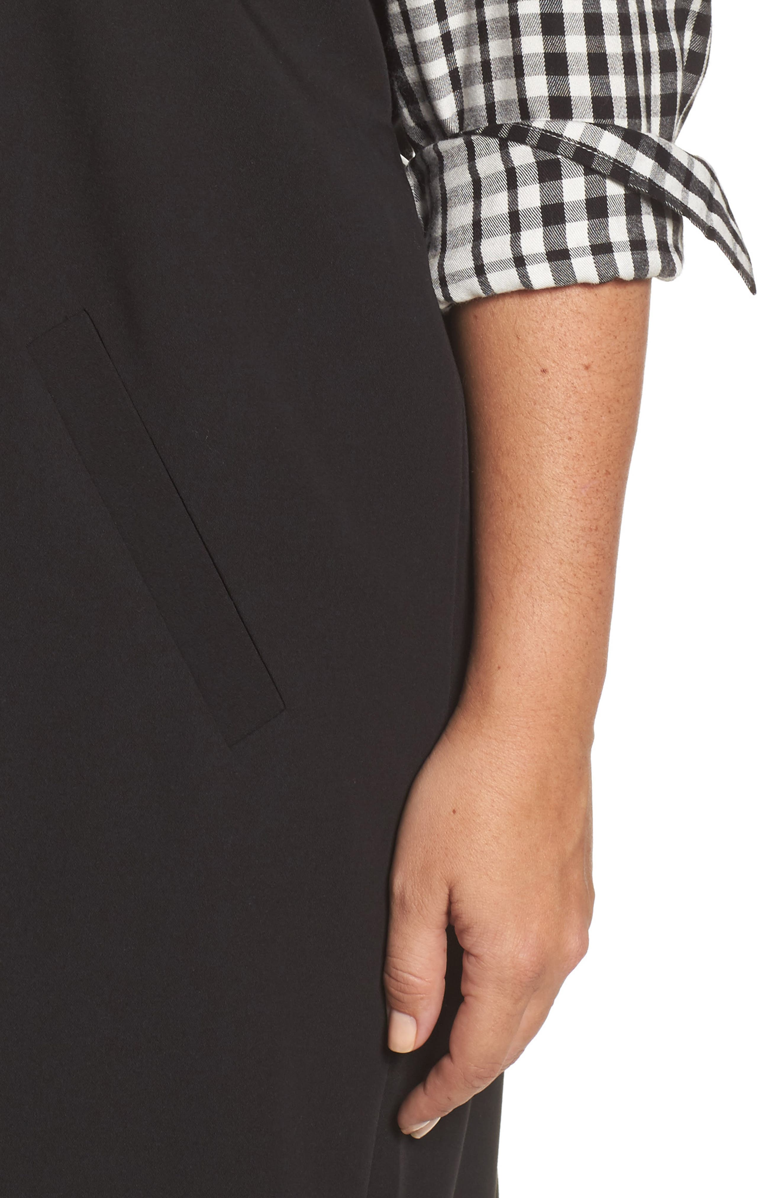 Alternate Image 4  - Melissa McCarthy Seven7 Open Front Longline Vest (Plus Size)