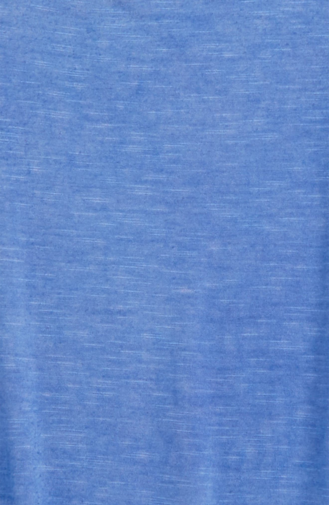 Cold Shoulder Tee,                             Alternate thumbnail 2, color,                             Chambray Blue