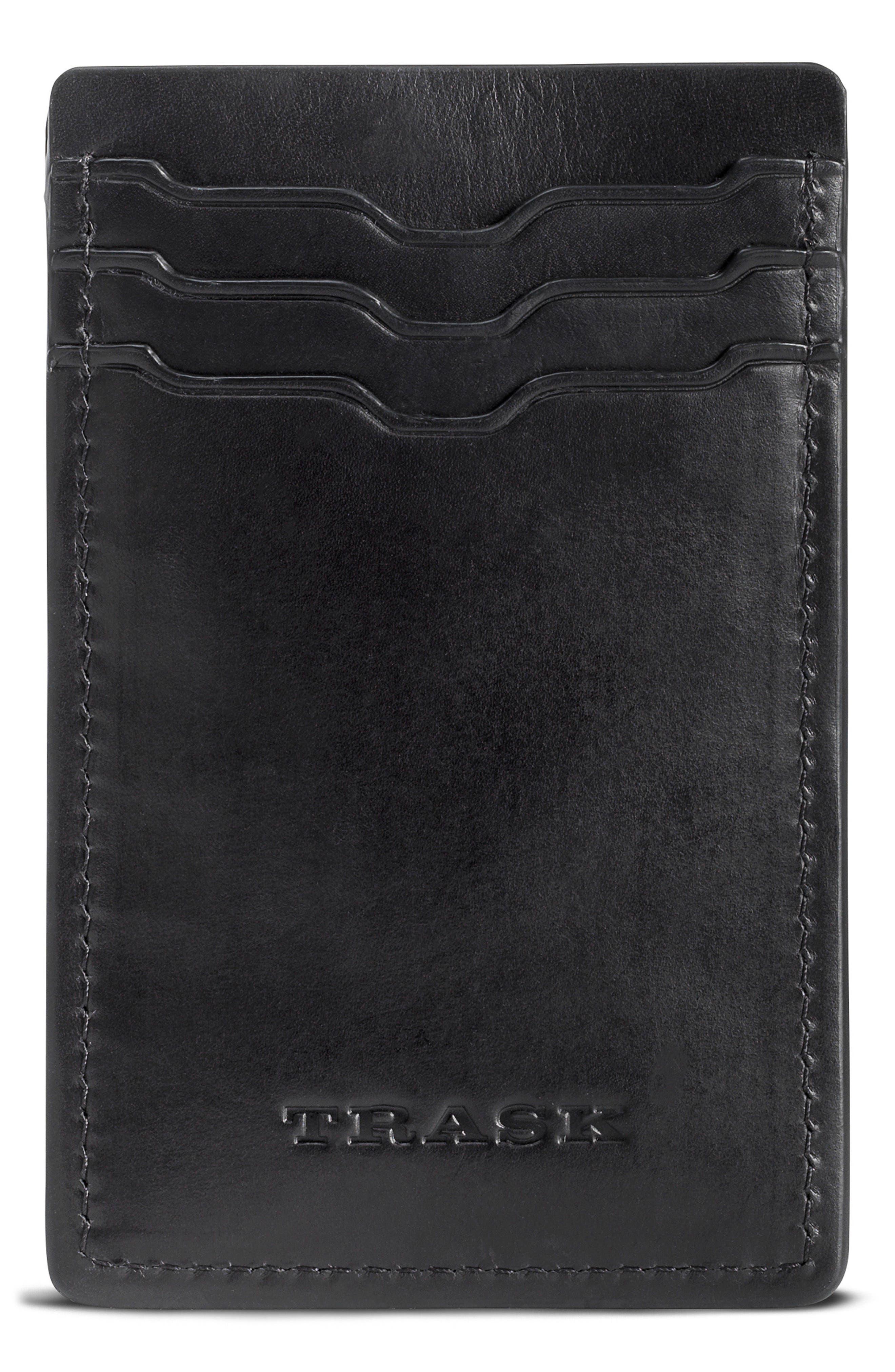 Trask Colton Money Clip Card Case
