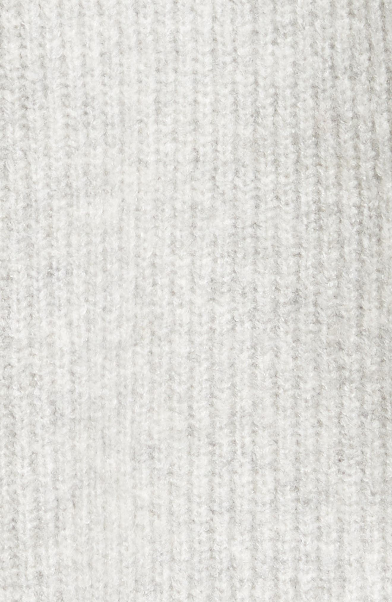 Cardigan Sweater,                             Alternate thumbnail 5, color,                             Grey Med Htr