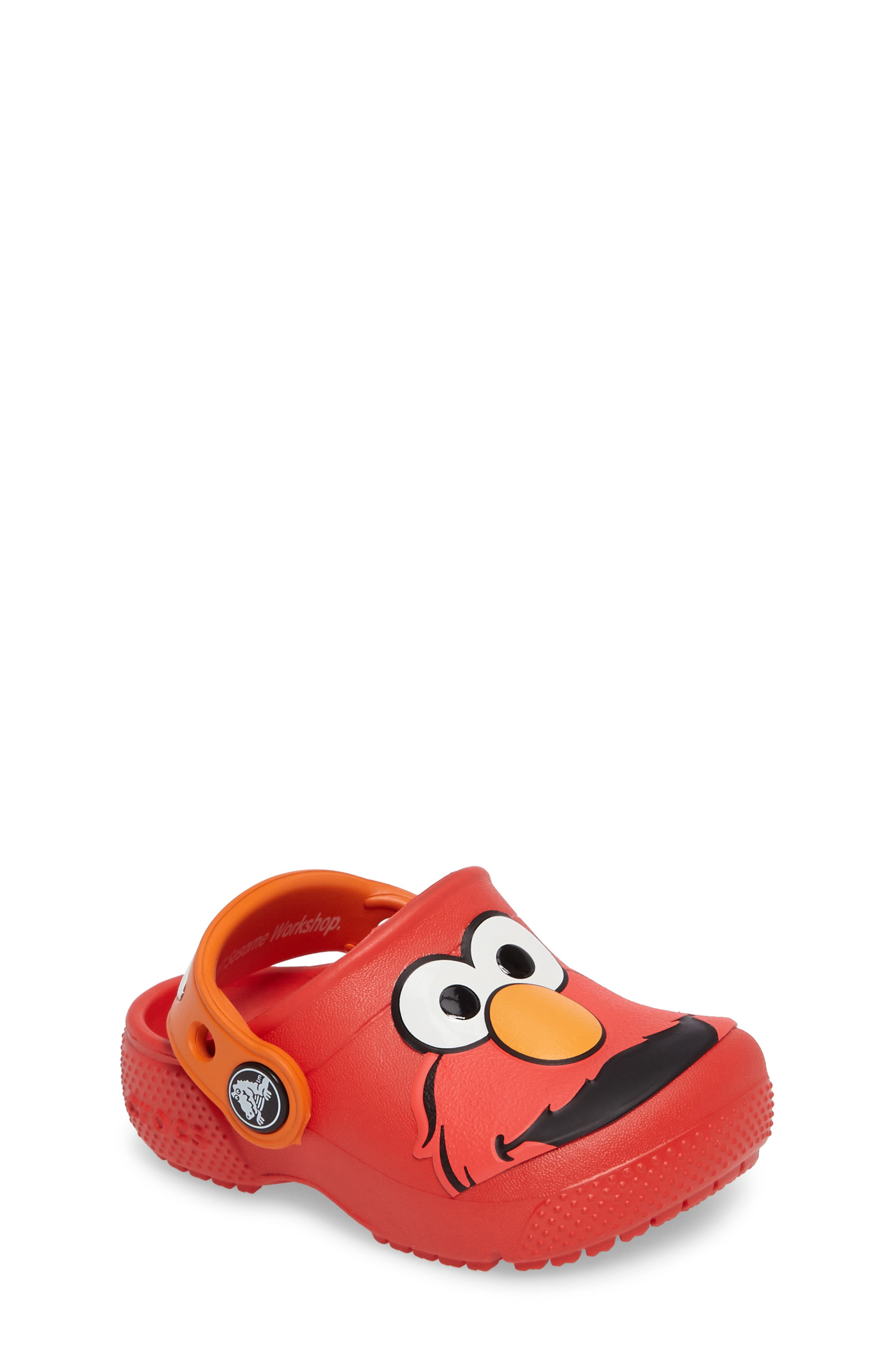 CROCS™ Fun Lab Elmo™ Graphic Clog (Baby, Walker, Toddler & Little Kid)